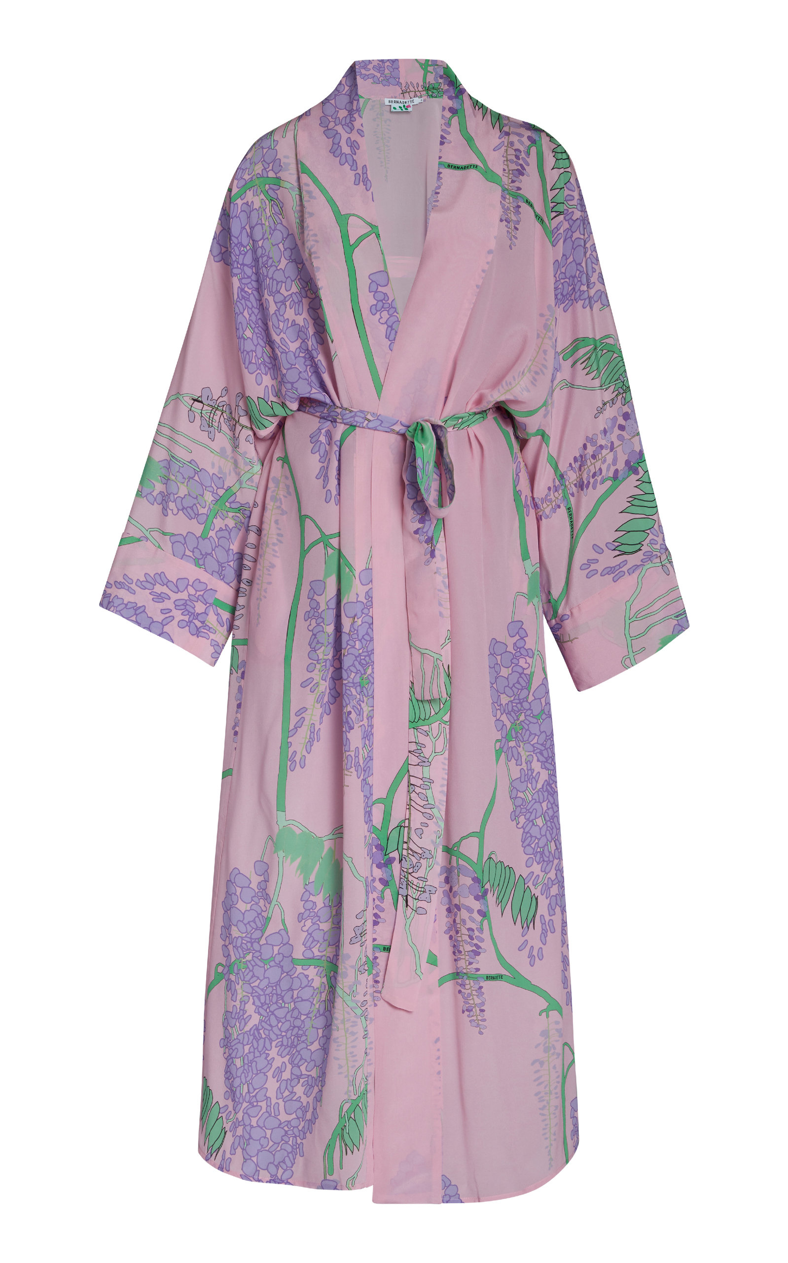 Buy Bernadette Antwerp Peignoir Silk Crepe De Chine Kimono Dress online, shop Bernadette Antwerp at the best price