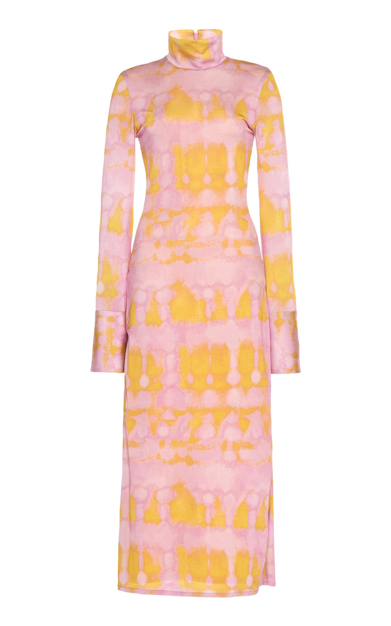 Buy Ellery Seychelles Tie-Dye Stretch-Crepe Dress online, shop Ellery at the best price
