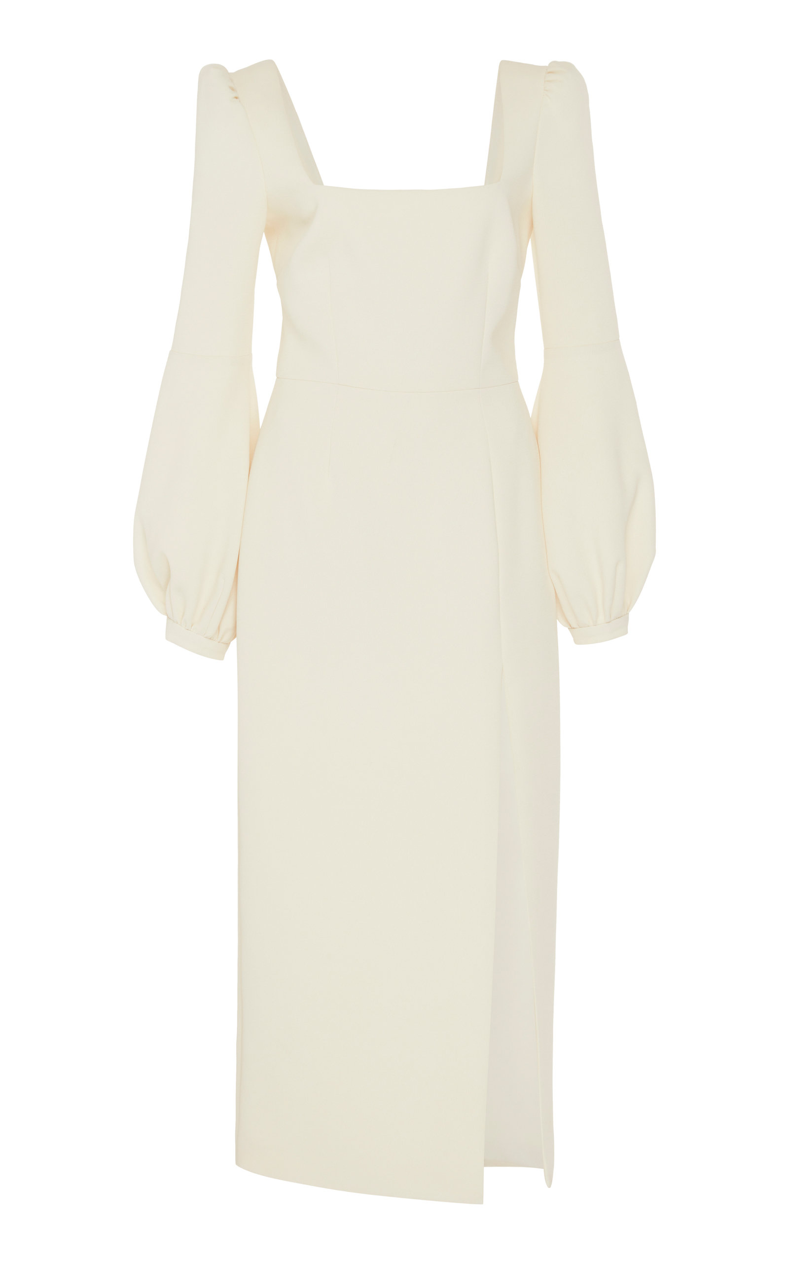 Buy Racil Giada Square Neck Balloon Sleeve Long Dress online, shop Racil at the best price