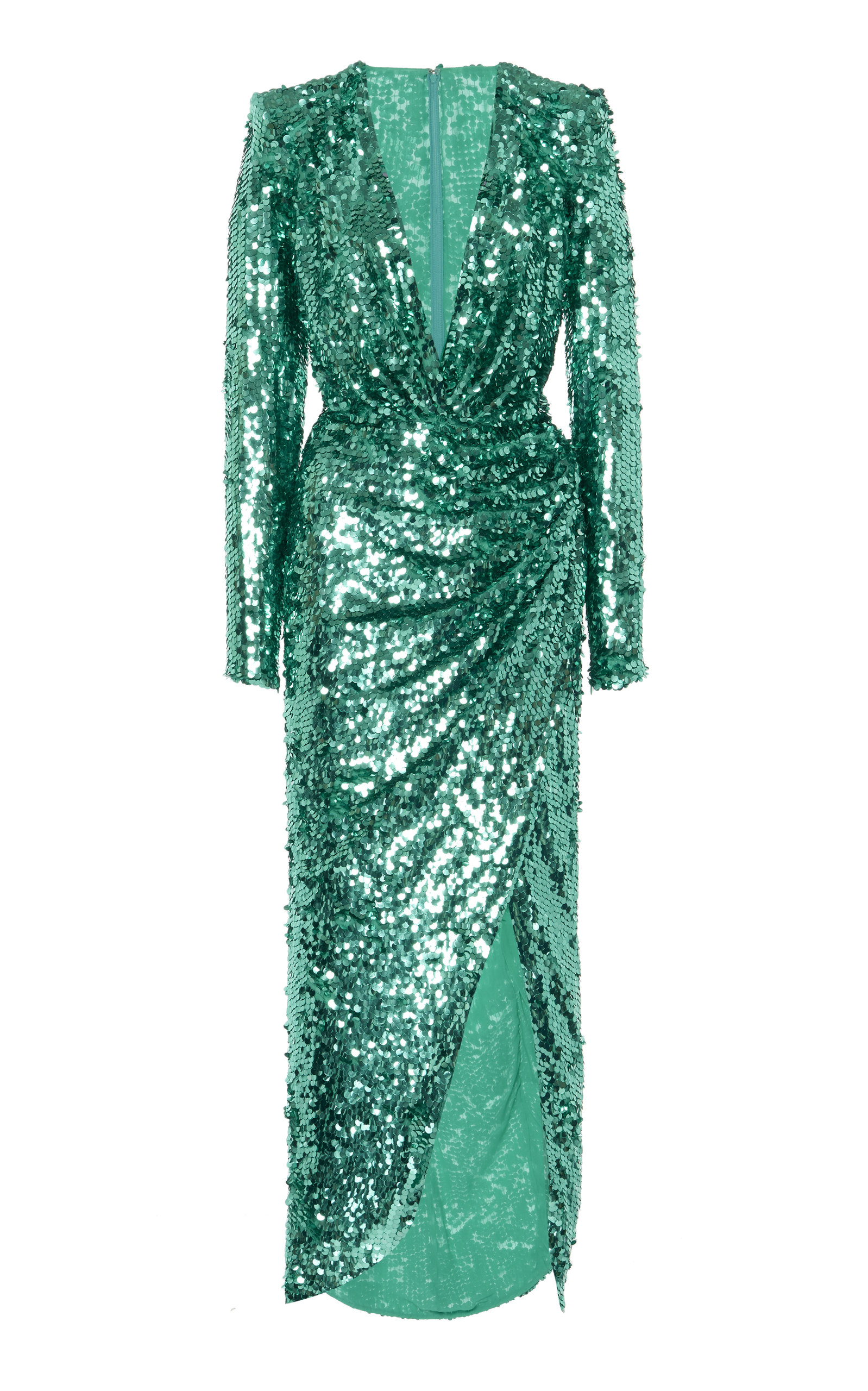 Buy Zuhair Murad Sequin-Embellished Crepe Gown online, shop Zuhair Murad at the best price