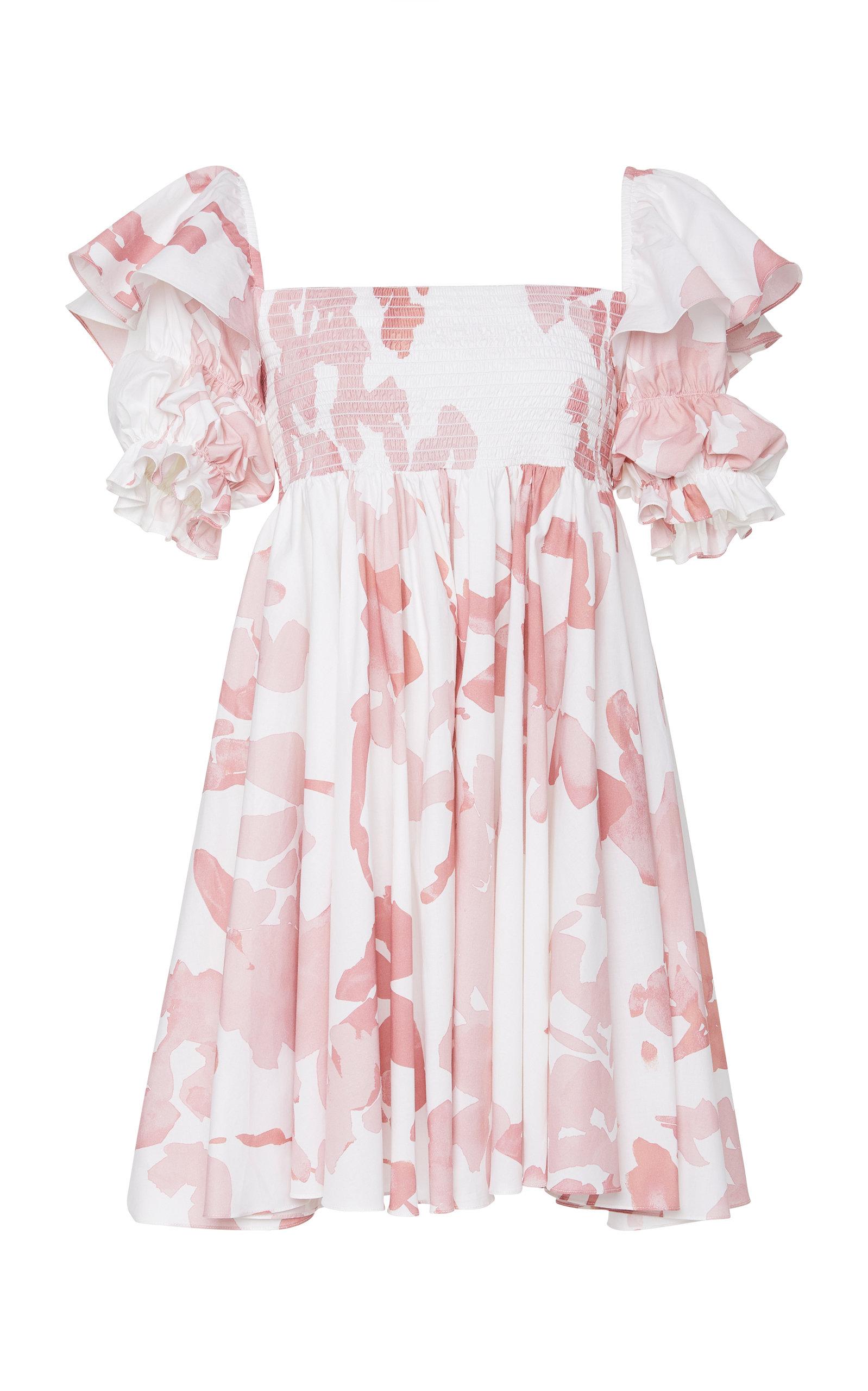 Buy Caroline Constas Hanna Floral Dress online, shop Caroline Constas at the best price