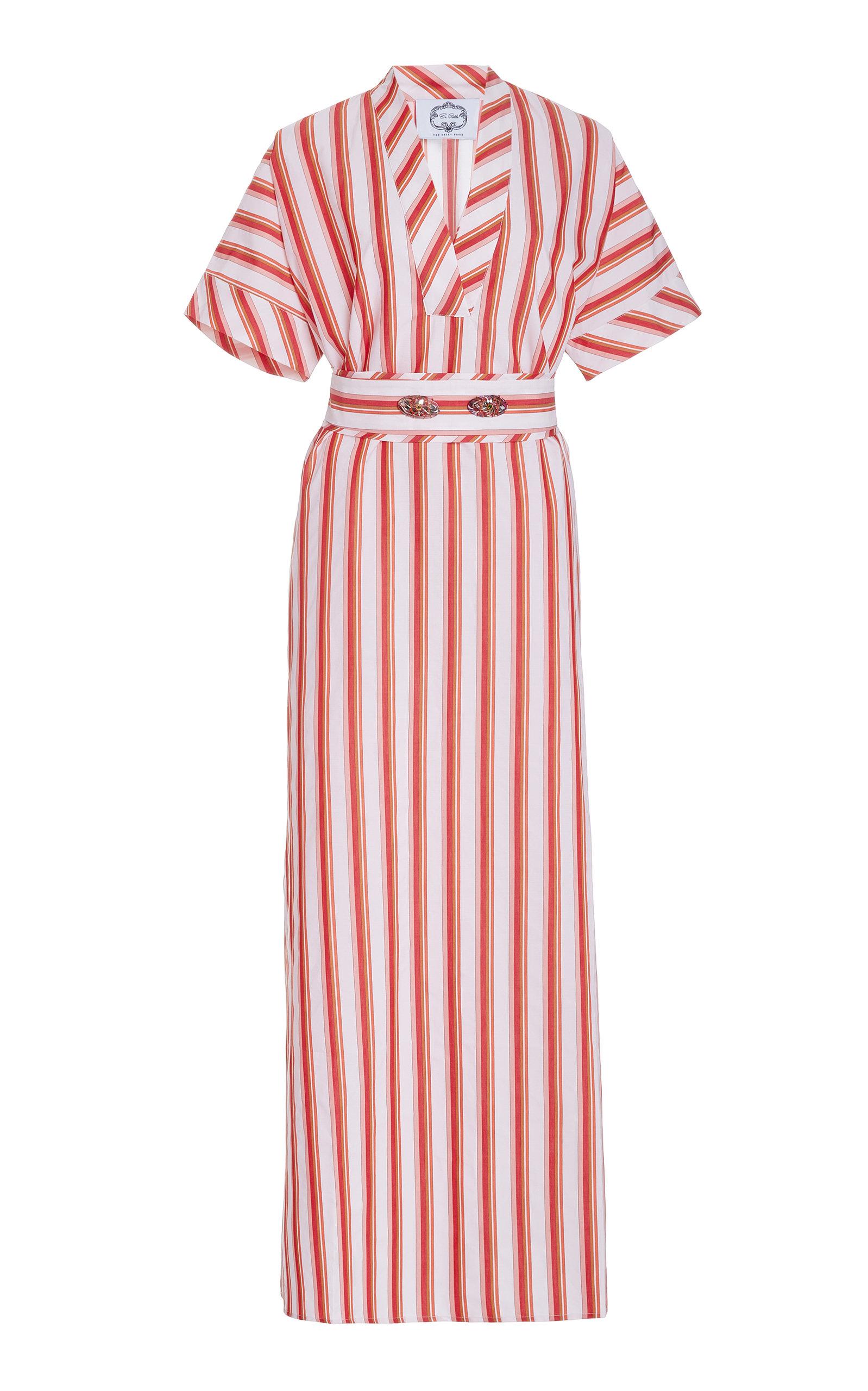 Buy Evi Grintela Mamounia Striped Cotton Dress online, shop Evi Grintela at the best price