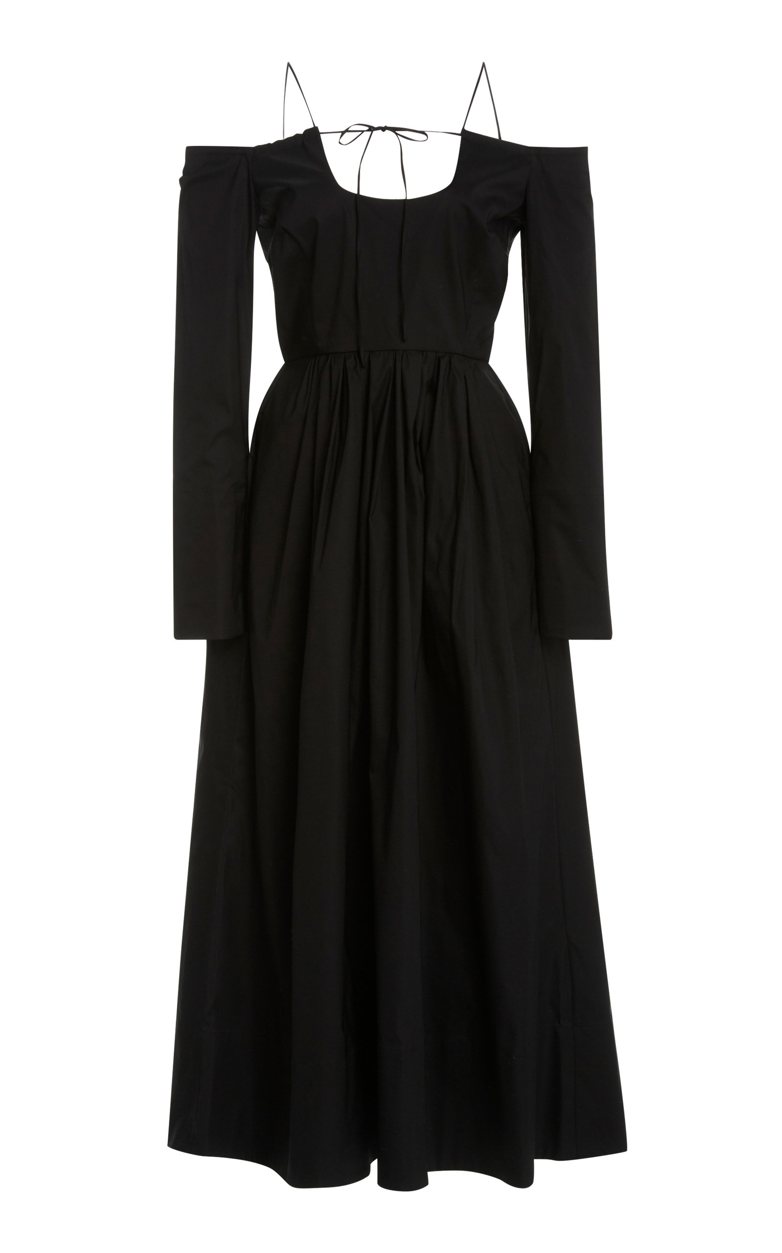 Buy By Any Other Name Pastoral Cotton-Blend Midi Dress online, shop By Any Other Name at the best price