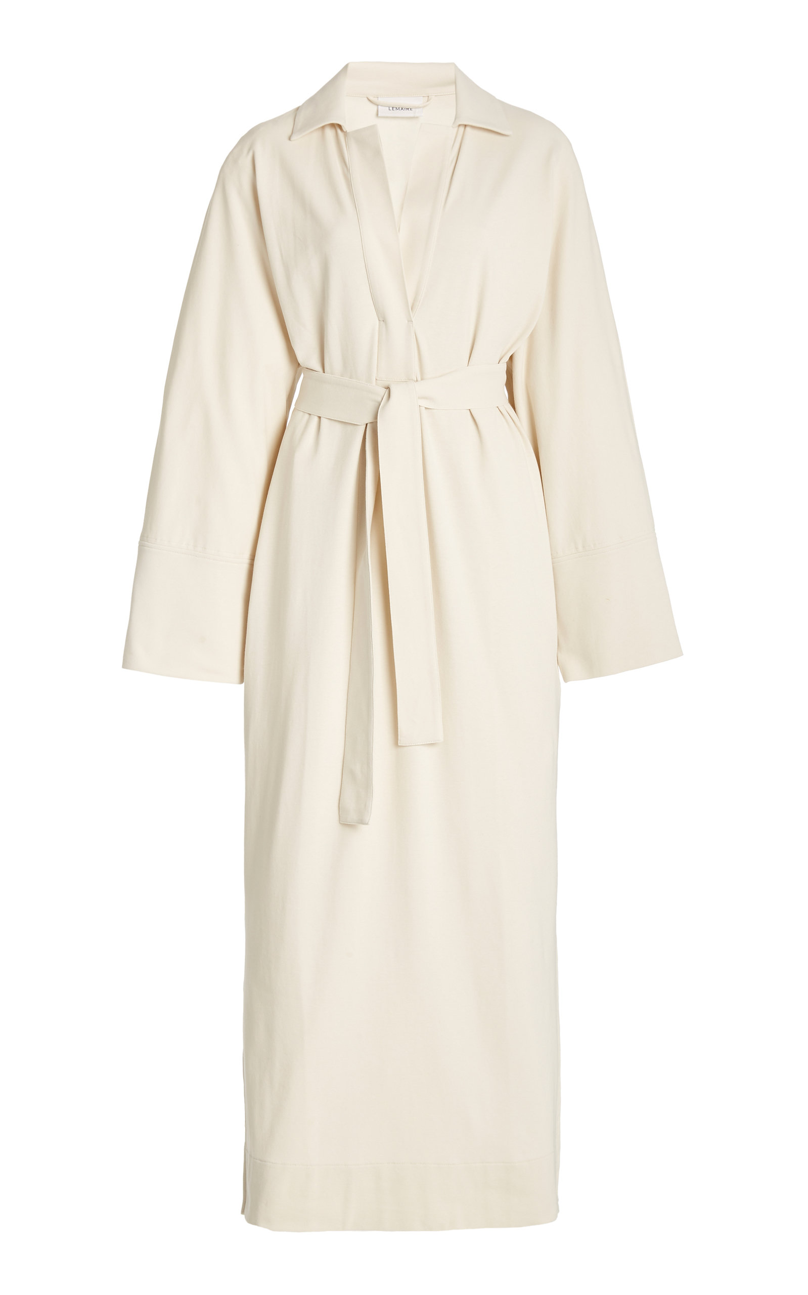 Buy Lemaire Wrap-Front Cotton Shirt Dress online, shop Lemaire at the best price