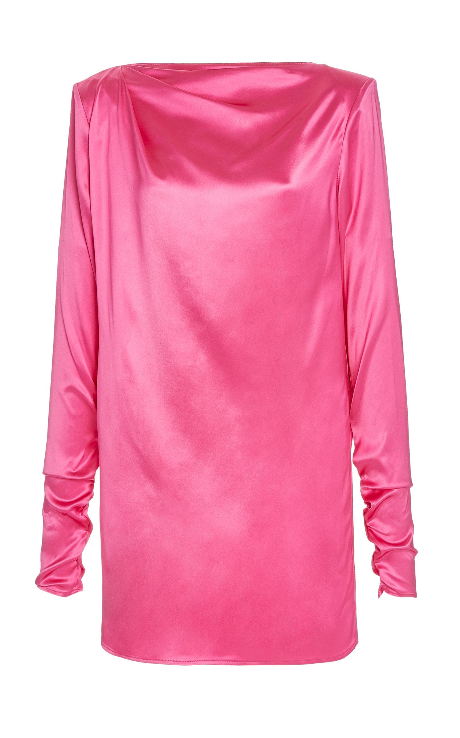 Buy Gauge81 Pisa Satin Mini Dress online, shop Gauge81 at the best price