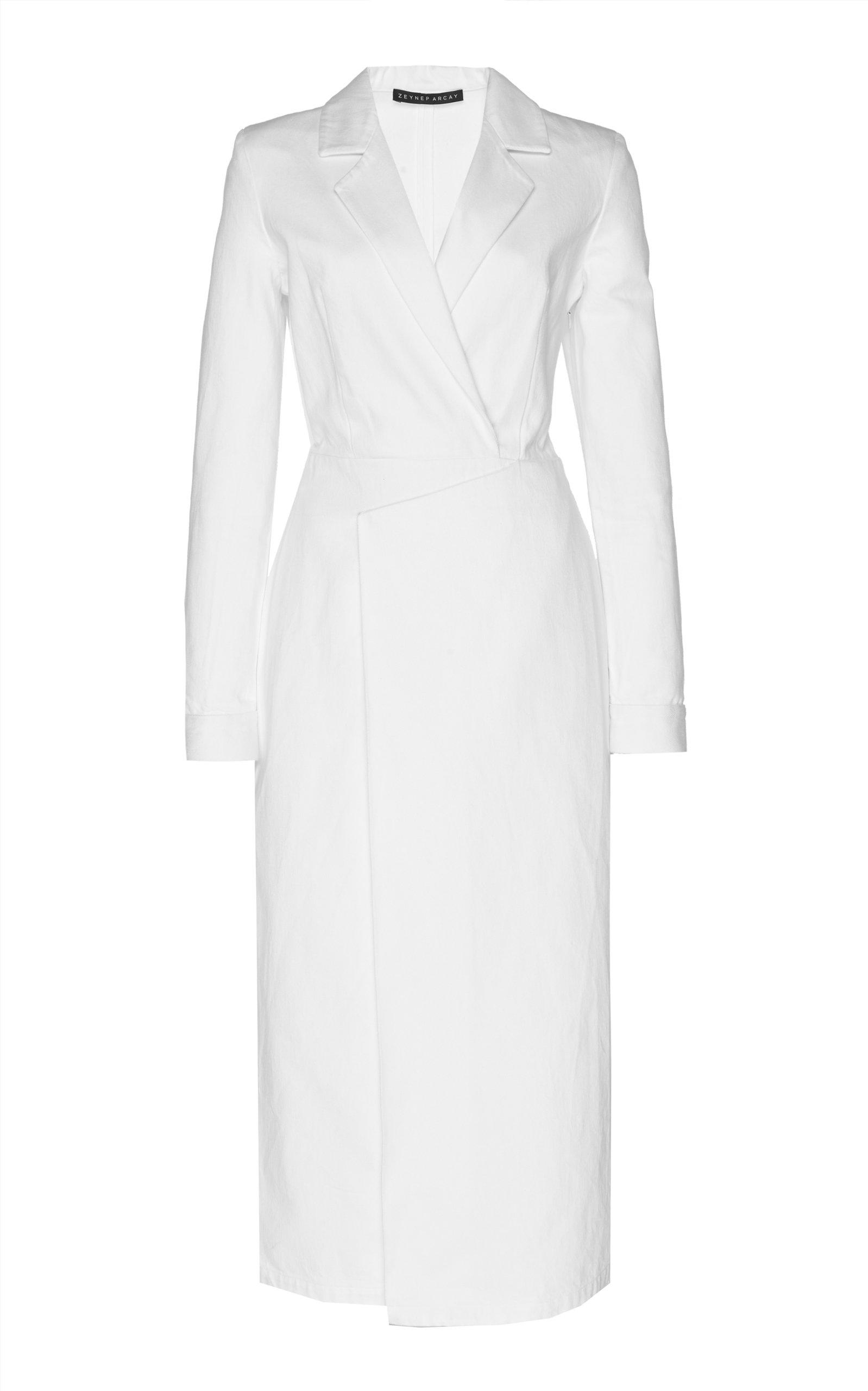 Buy Zeynep Arçay Denim Midi Dress online, shop Zeynep Arçay at the best price