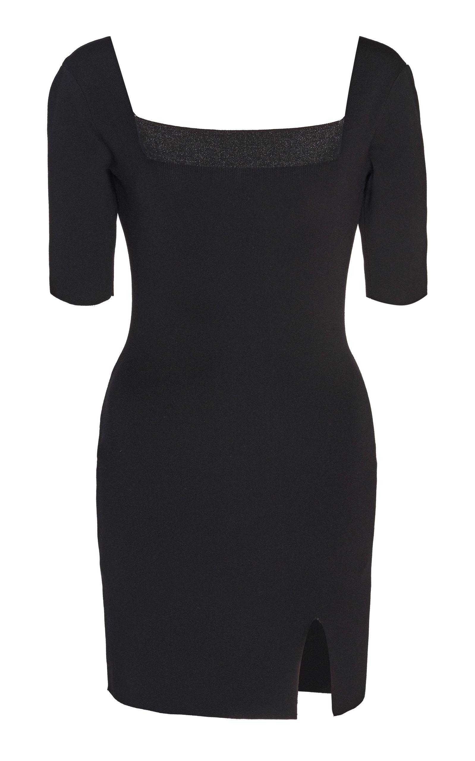 Buy Zeynep Arçay Knitted Stretch-Jersey Mini Dress online, shop Zeynep Arçay at the best price