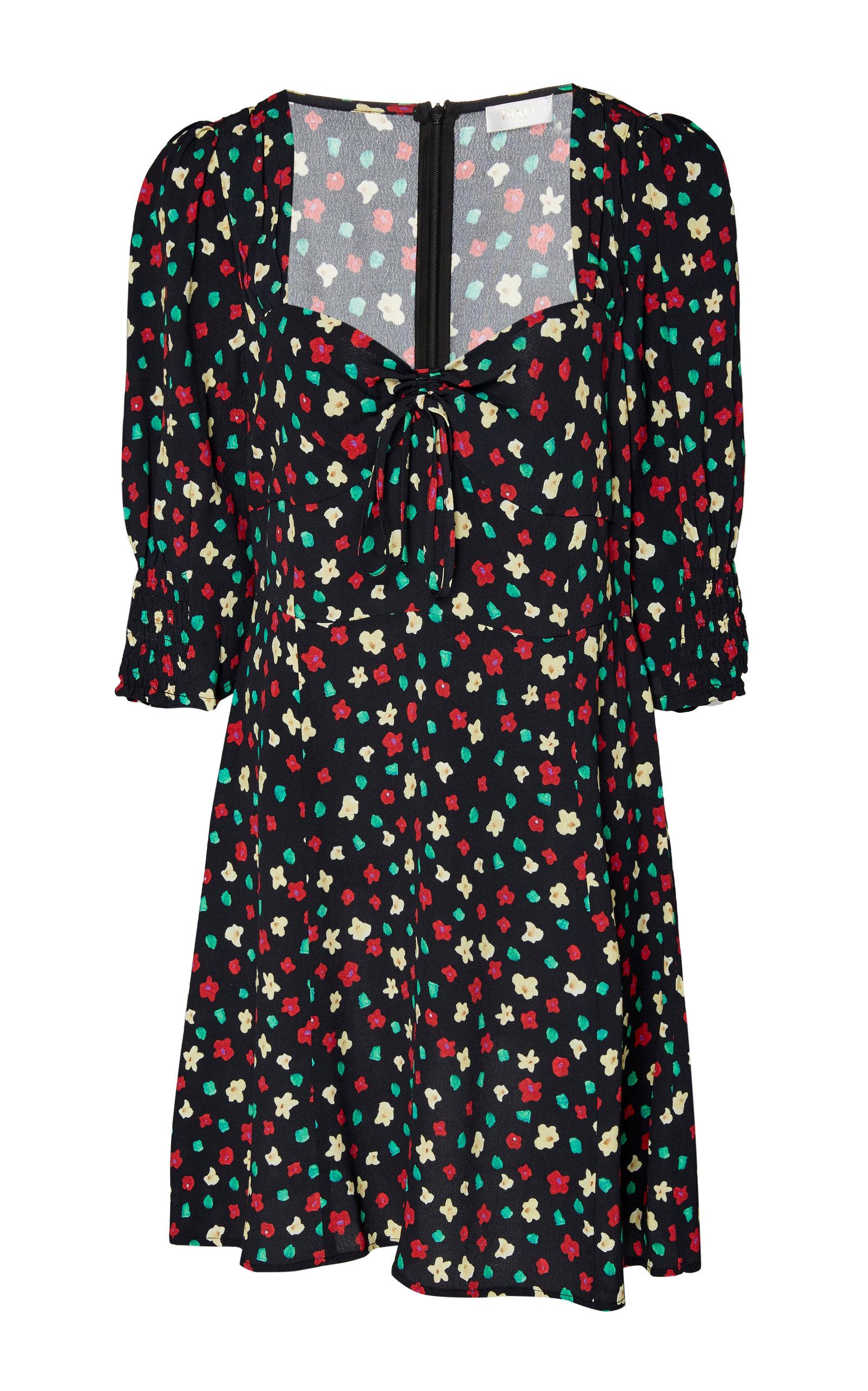 Buy RIXO Larissa Printed Crepe Mini Dress online, shop RIXO at the best price
