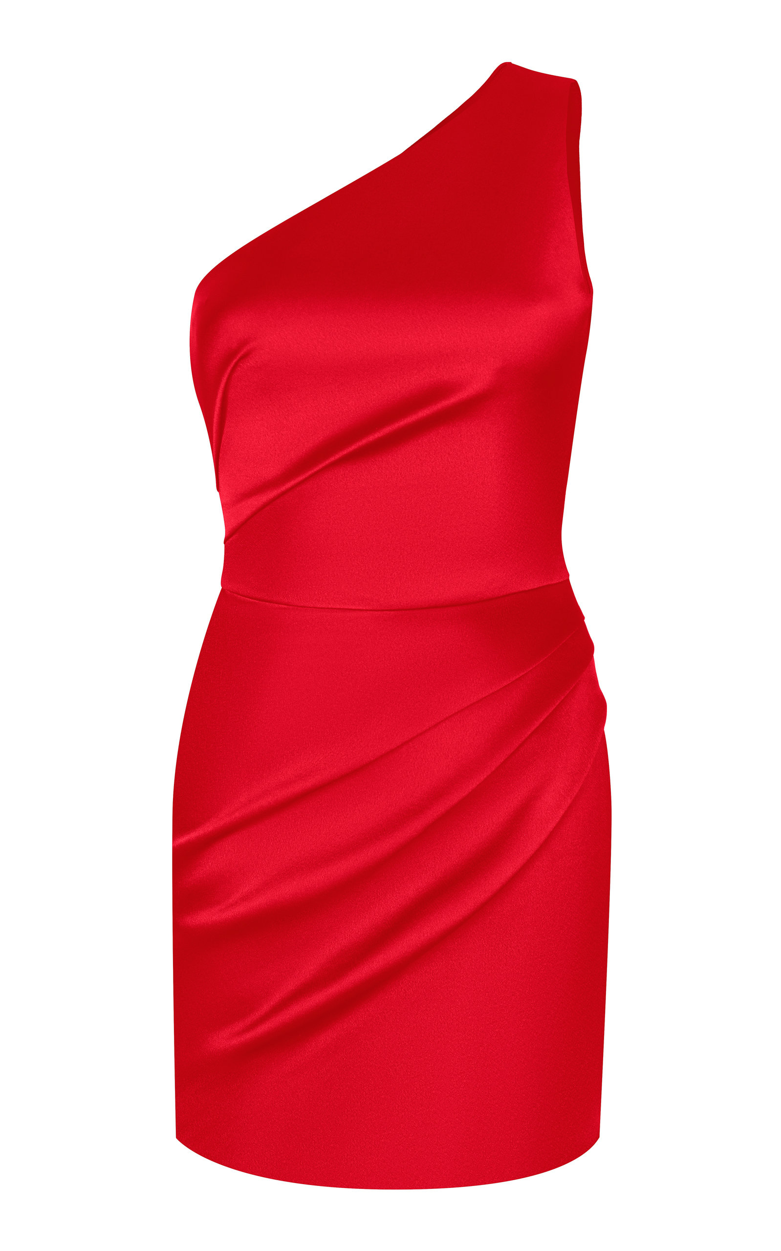 Buy Rasario One Shoulder Satin Mini Dress online, shop Rasario at the best price