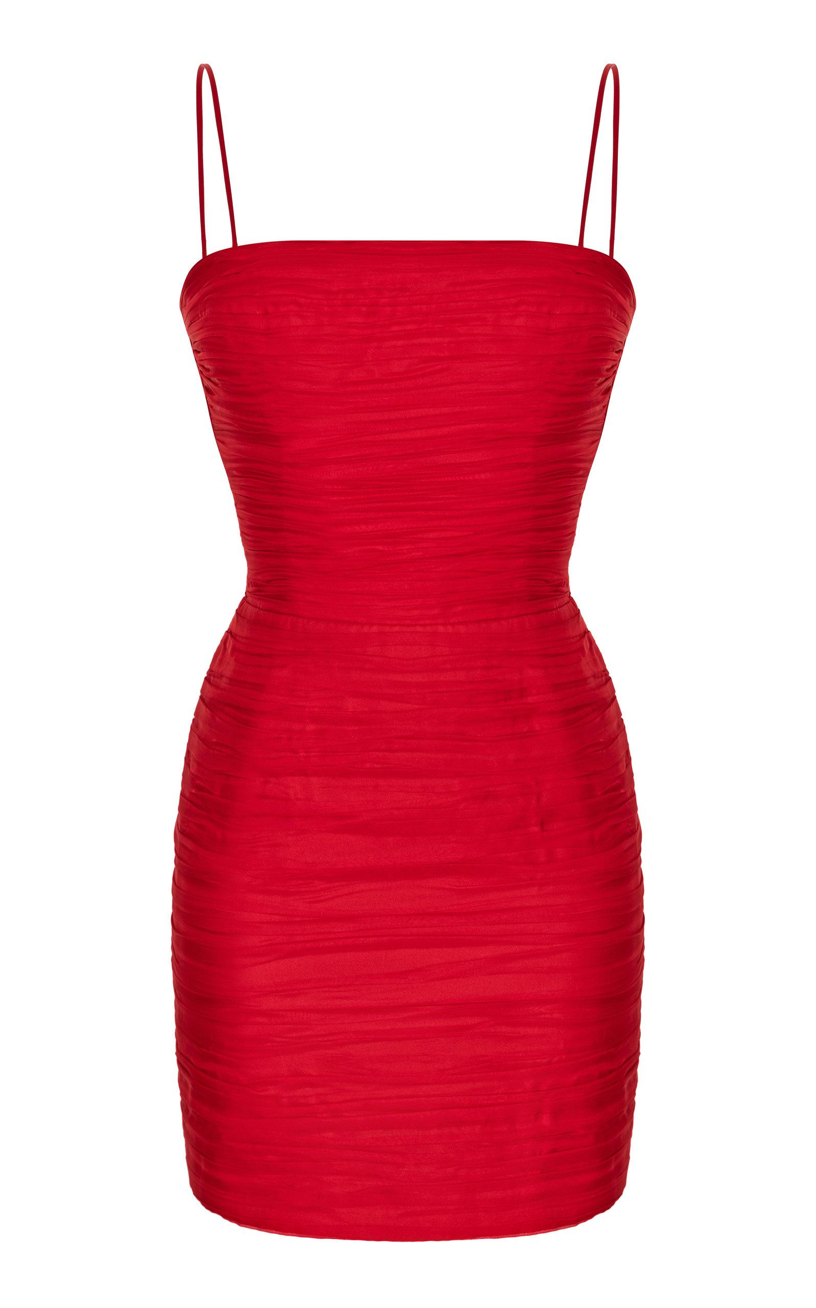 Buy Rasario Silk-Chiffon Mini Dress online, shop Rasario at the best price