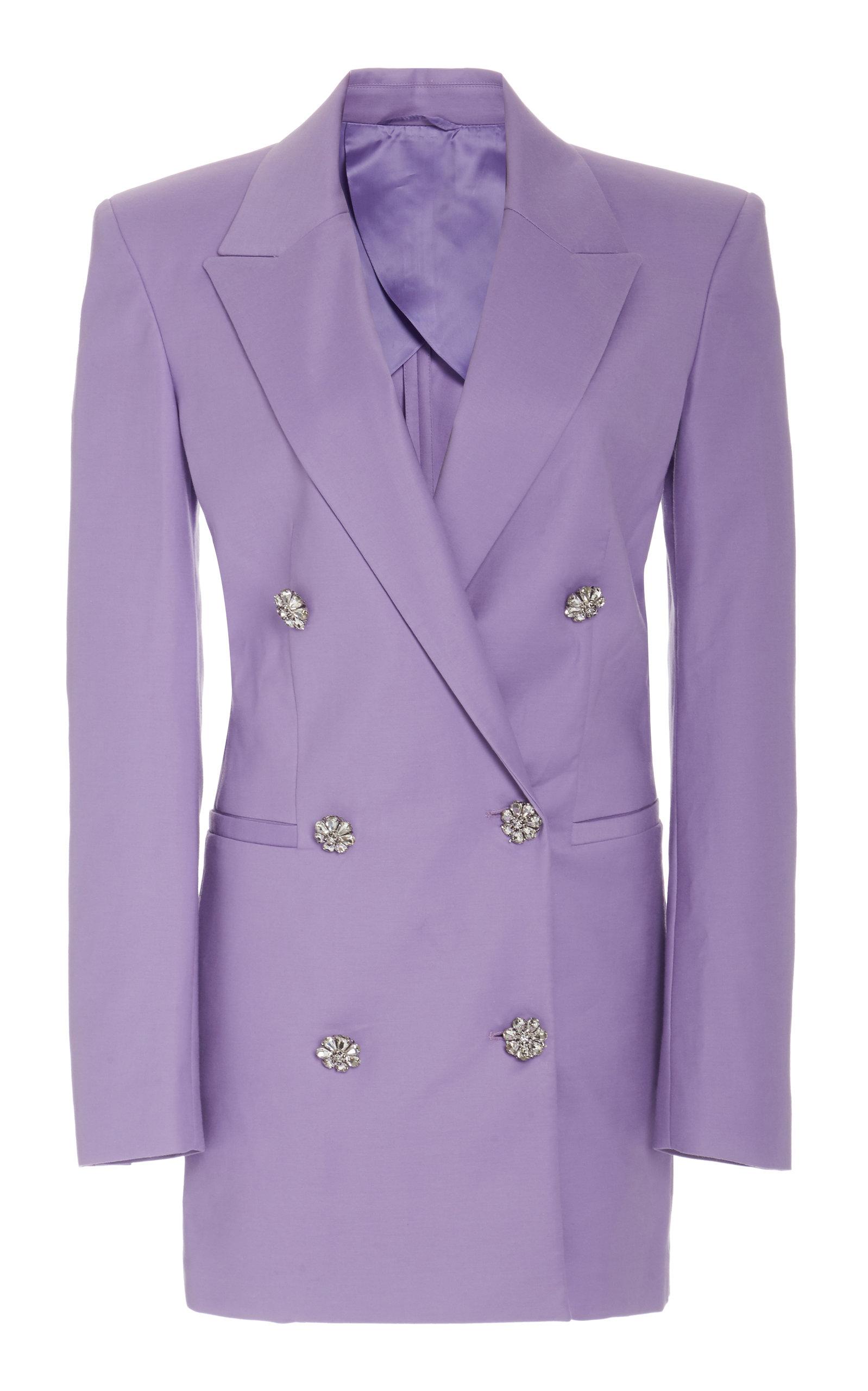 Buy The Attico Stretch Wool Blazer Dress online, shop The Attico at the best price