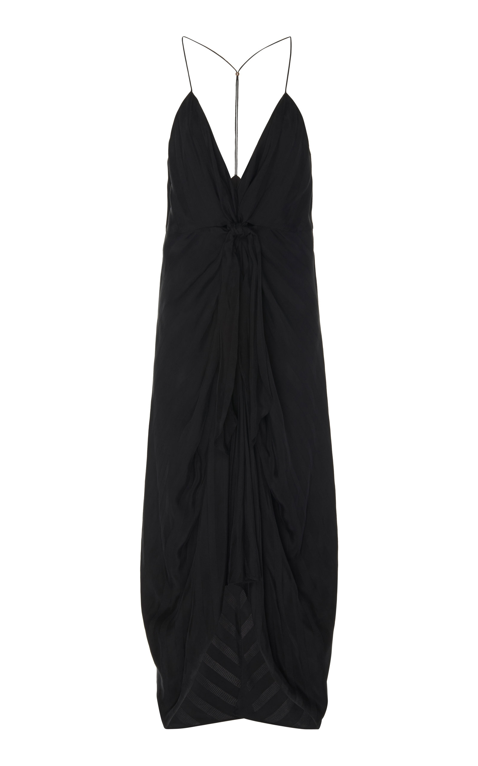 Buy Significant Other Daphne V-Neck Cupro Midi Dress online, shop Significant Other at the best price