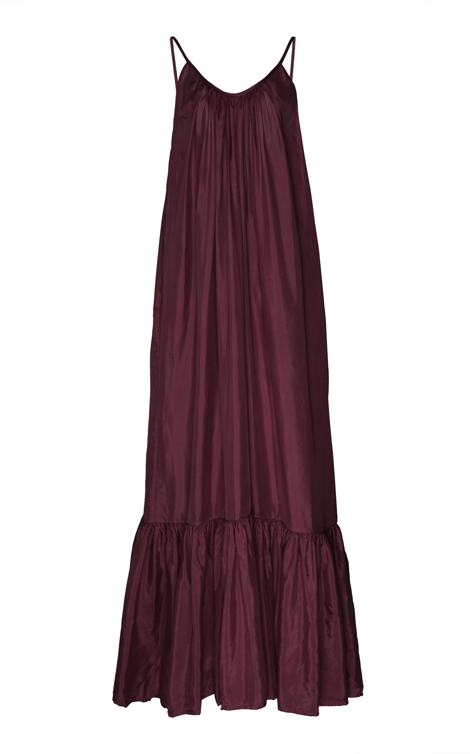 Buy Kalita Brigitte Gathered Silk Maxi Dress online, shop Kalita at the best price