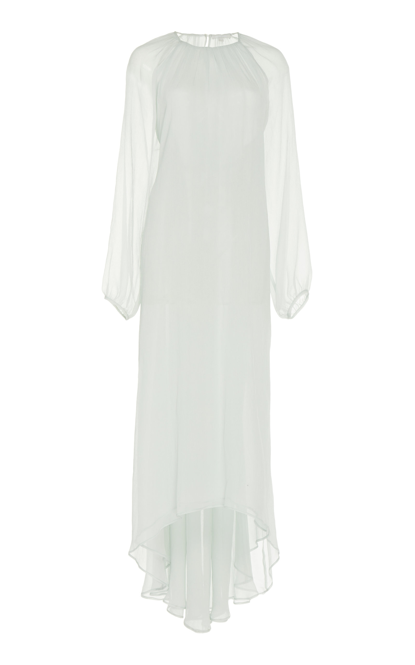 Buy White Story Castiglioni High-Low Silk Evening Dress online, shop White Story at the best price
