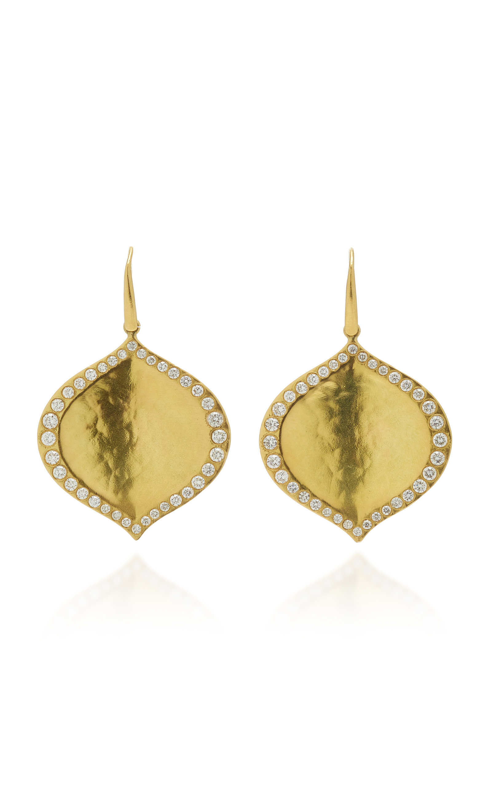 Women's Pallavi 18K Gold Diamond Earrings