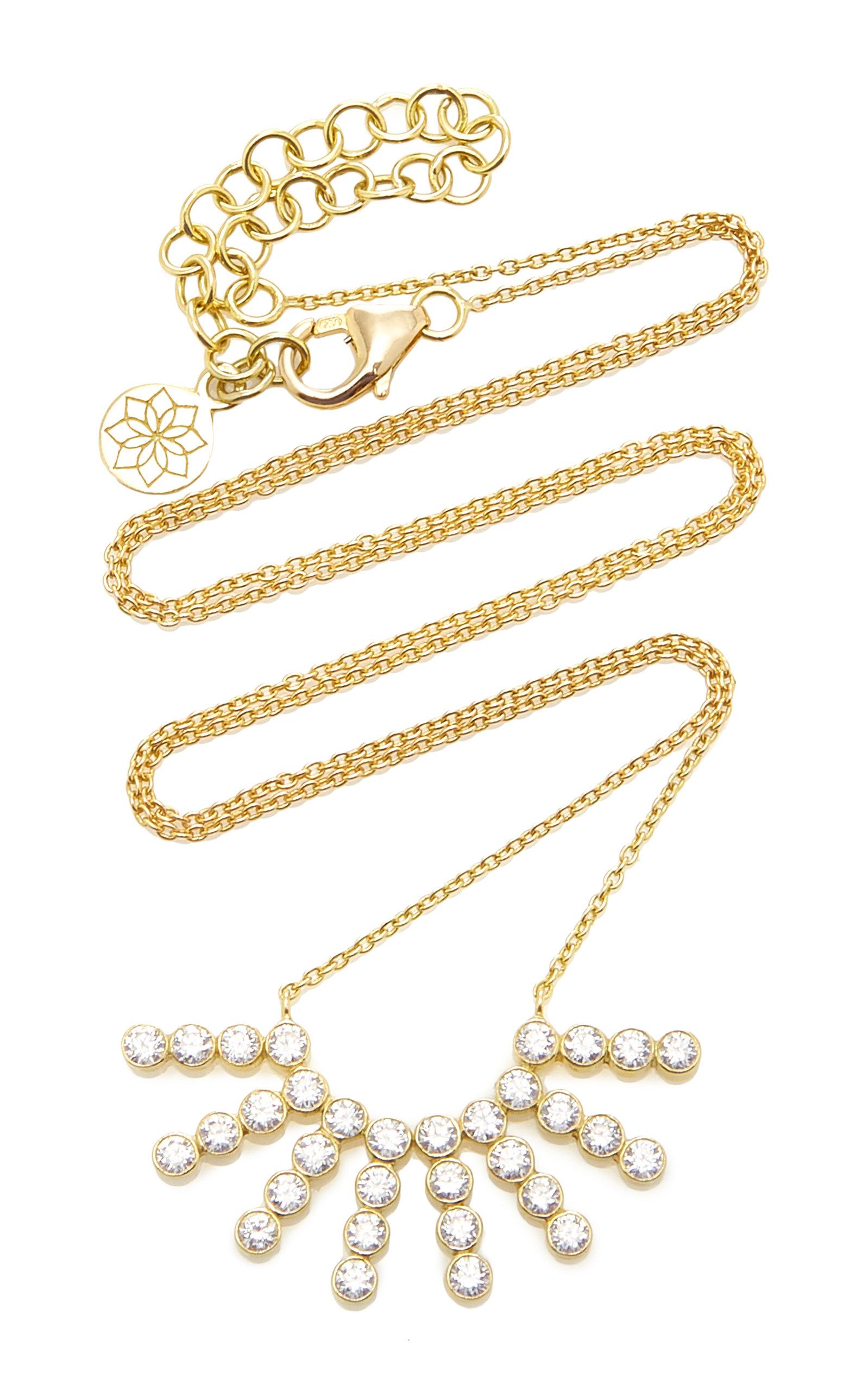 Women's Tarakini 18K Gold And Diamond Necklace
