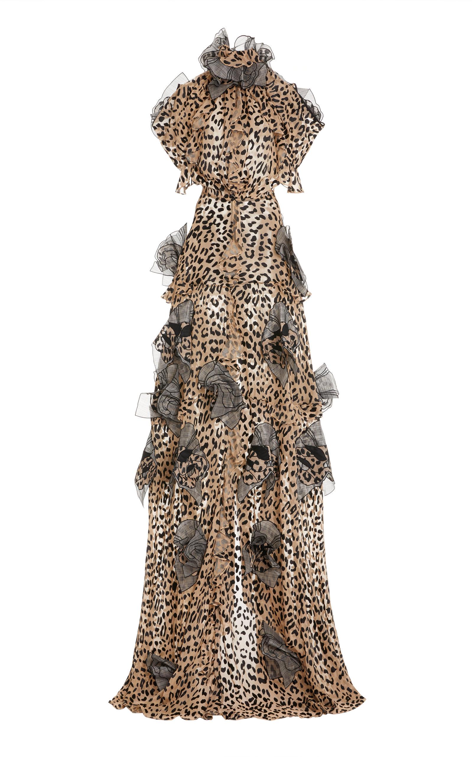 Buy Maticevski Petal-Embellished Satin Gown online, shop Maticevski at the best price