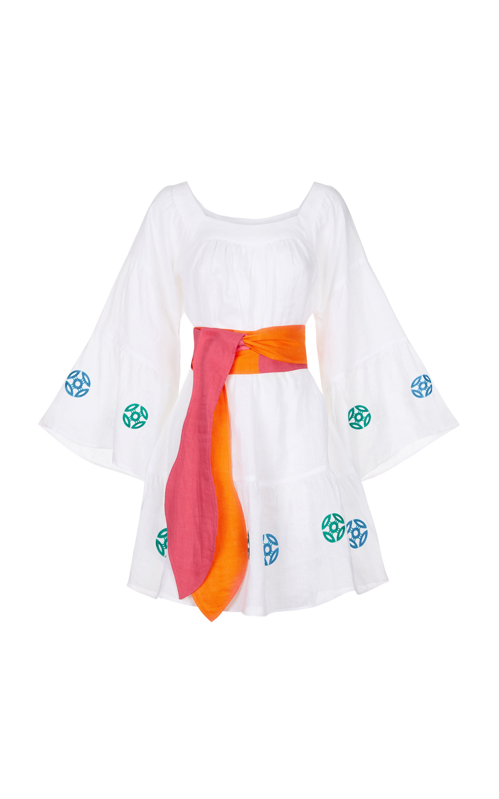 Buy Hester Bly Zadie Short Kaftan With Belt online, shop Hester Bly at the best price