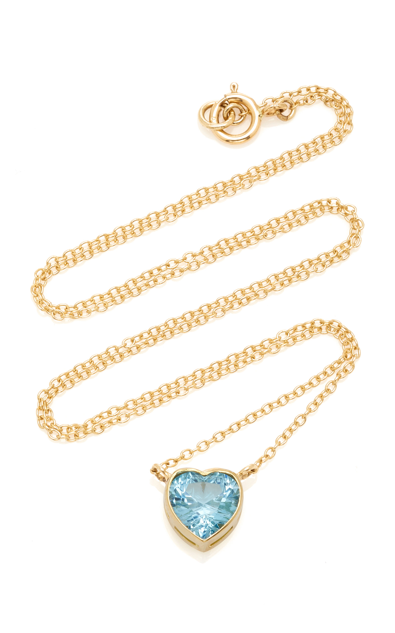 Women's London 18K Gold and Topaz Necklace
