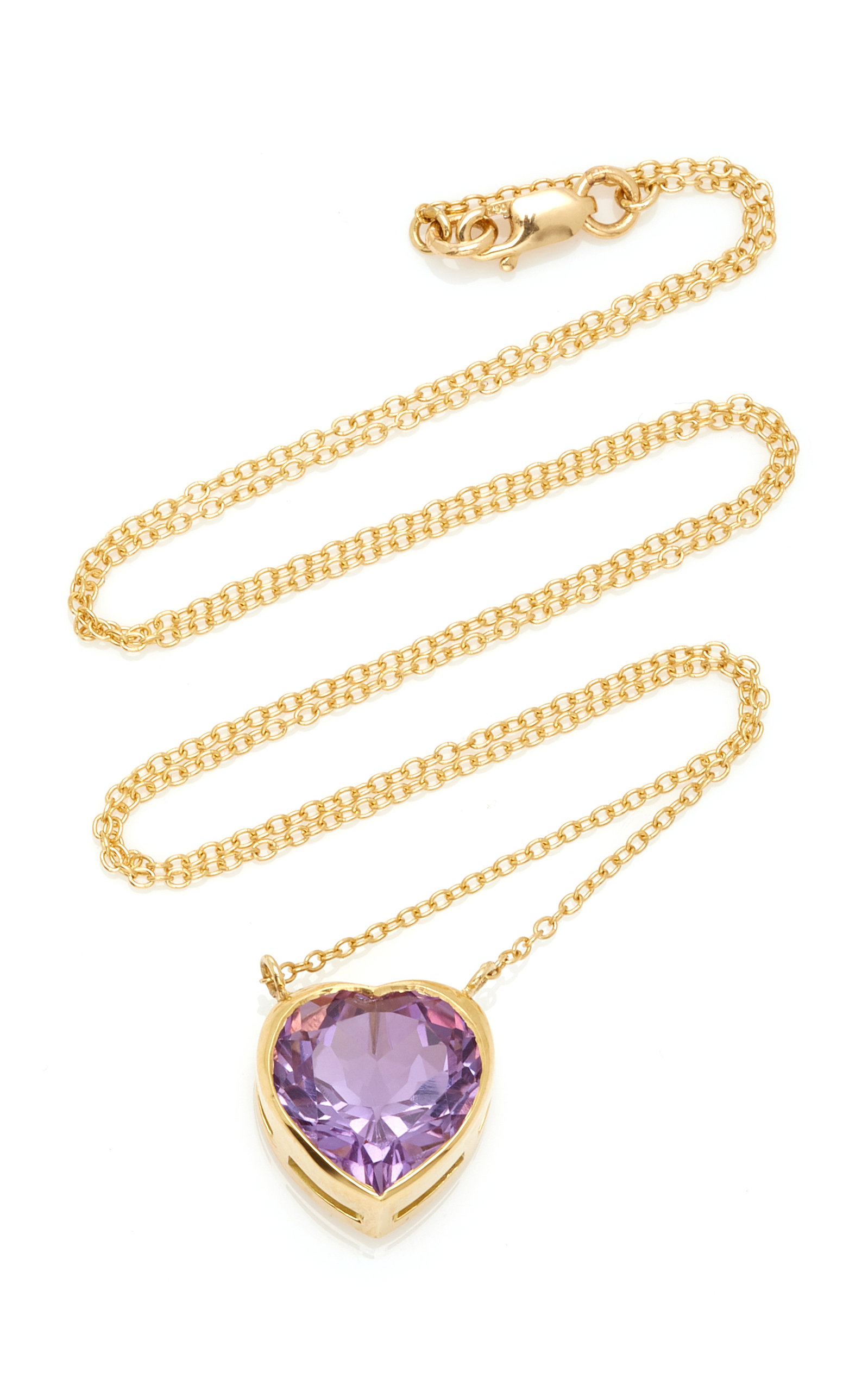 Women's London 18K Gold and Amethyst Necklace