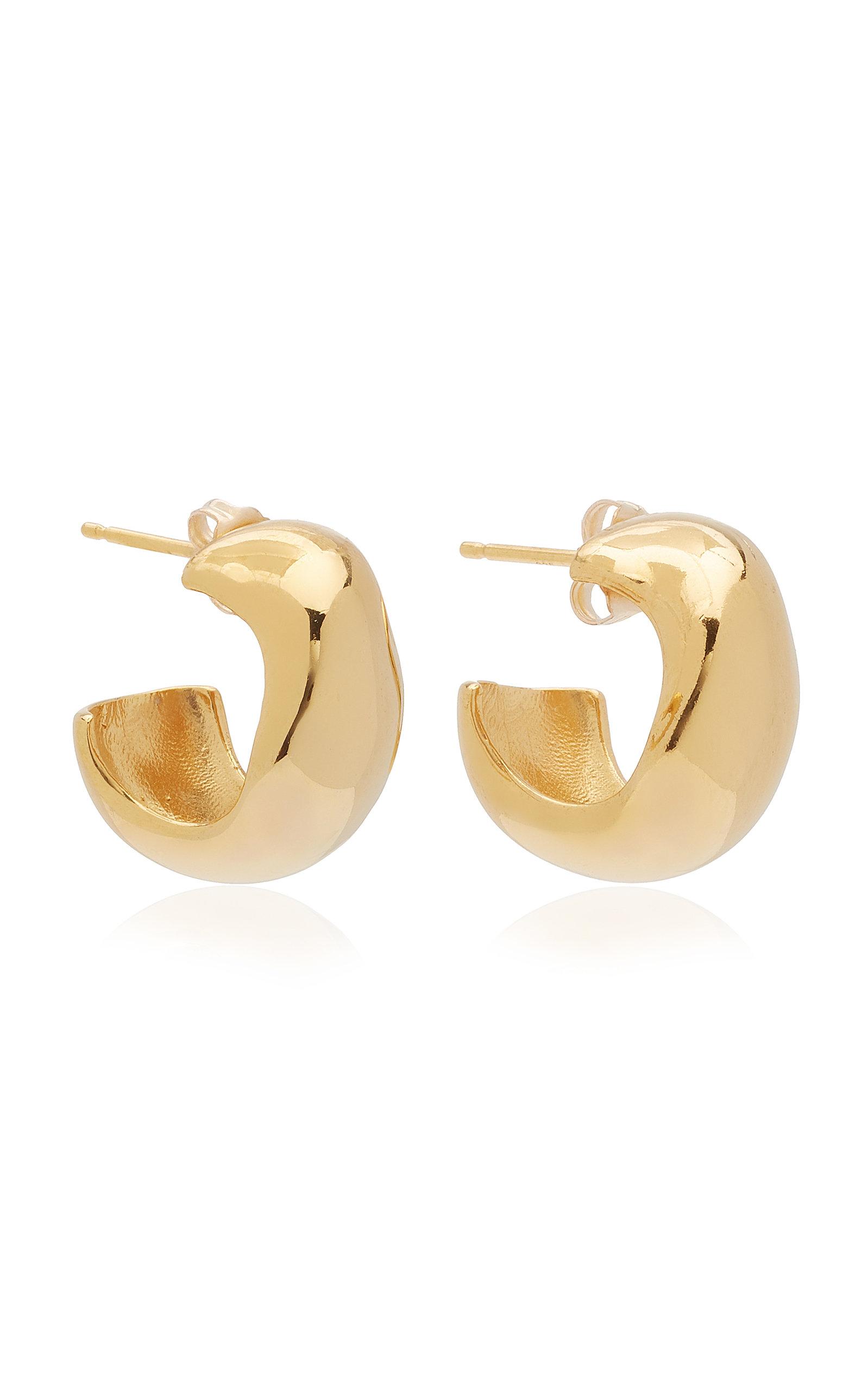Women's Celia Small Gold Vermeil Hoop Earrings
