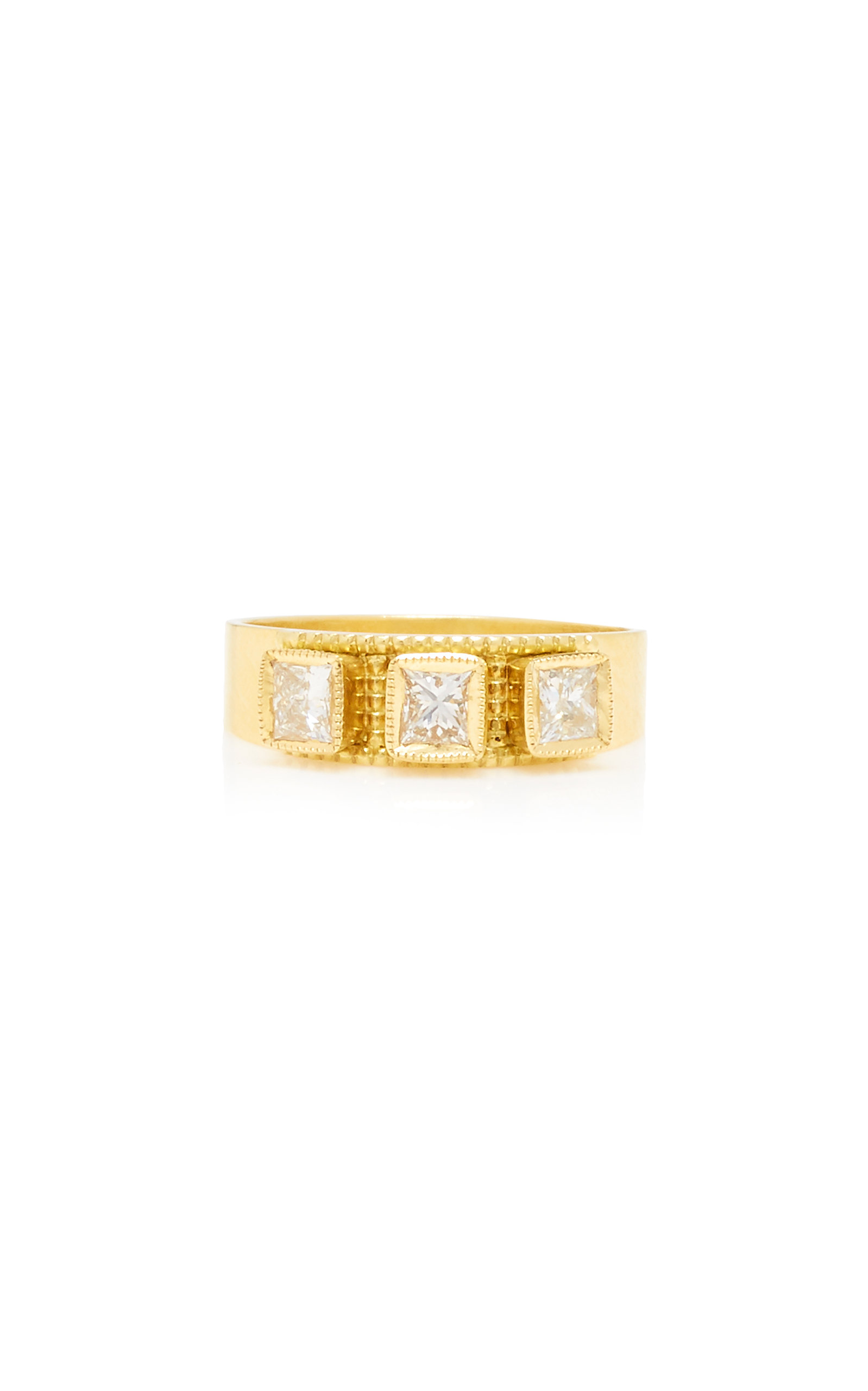 Women's 18K Gold and Diamond Ring