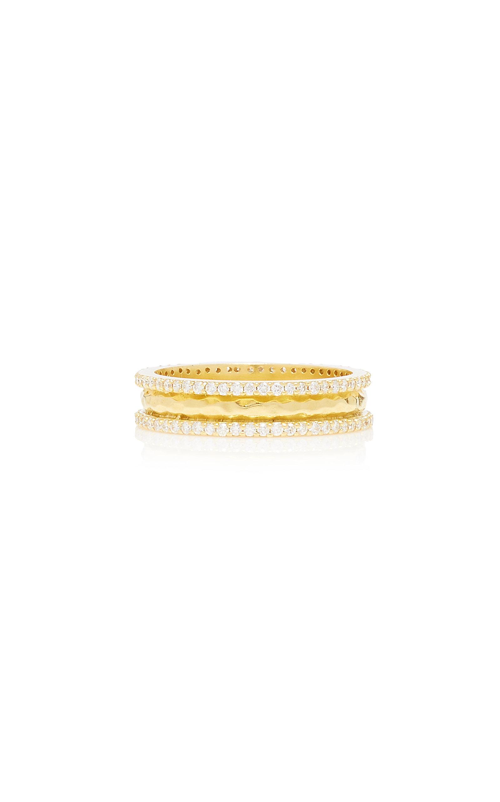 Women's Chandni 18K Gold and Diamond Ring