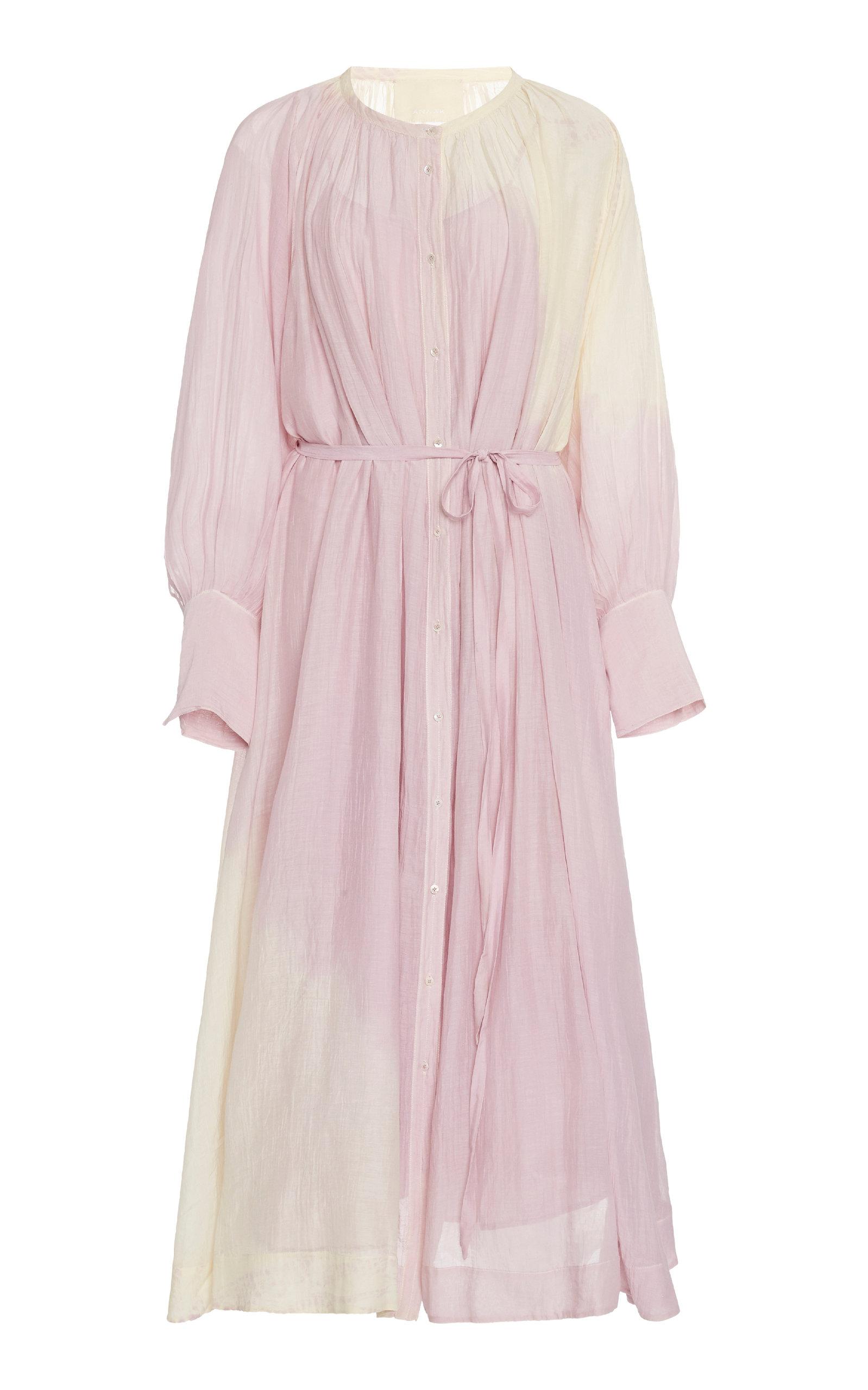 Buy Anaak Raj Cotton Midi Dress online, shop Anaak at the best price