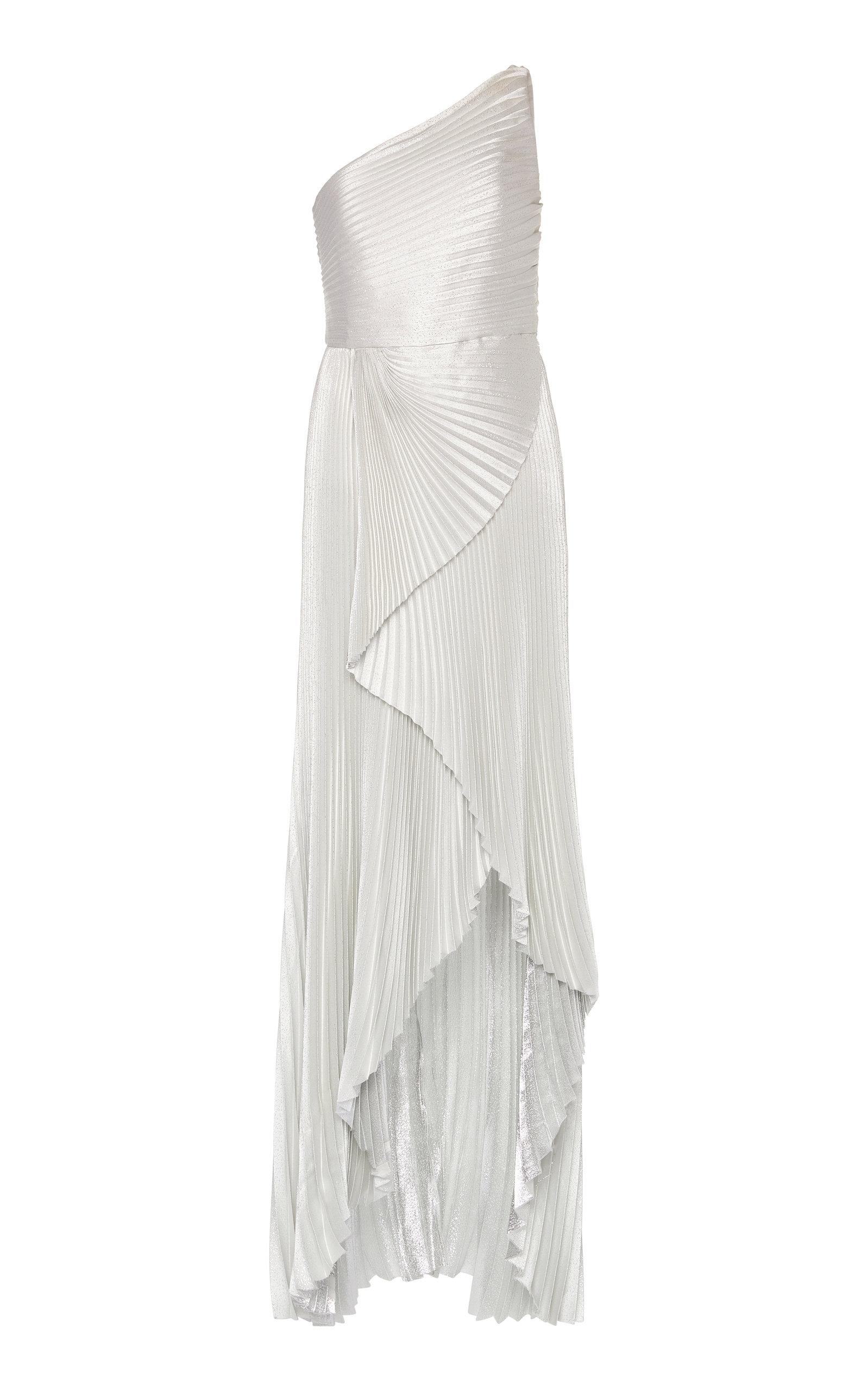 Buy SemSem Pleated One-Shoulder Dress online, shop SemSem at the best price