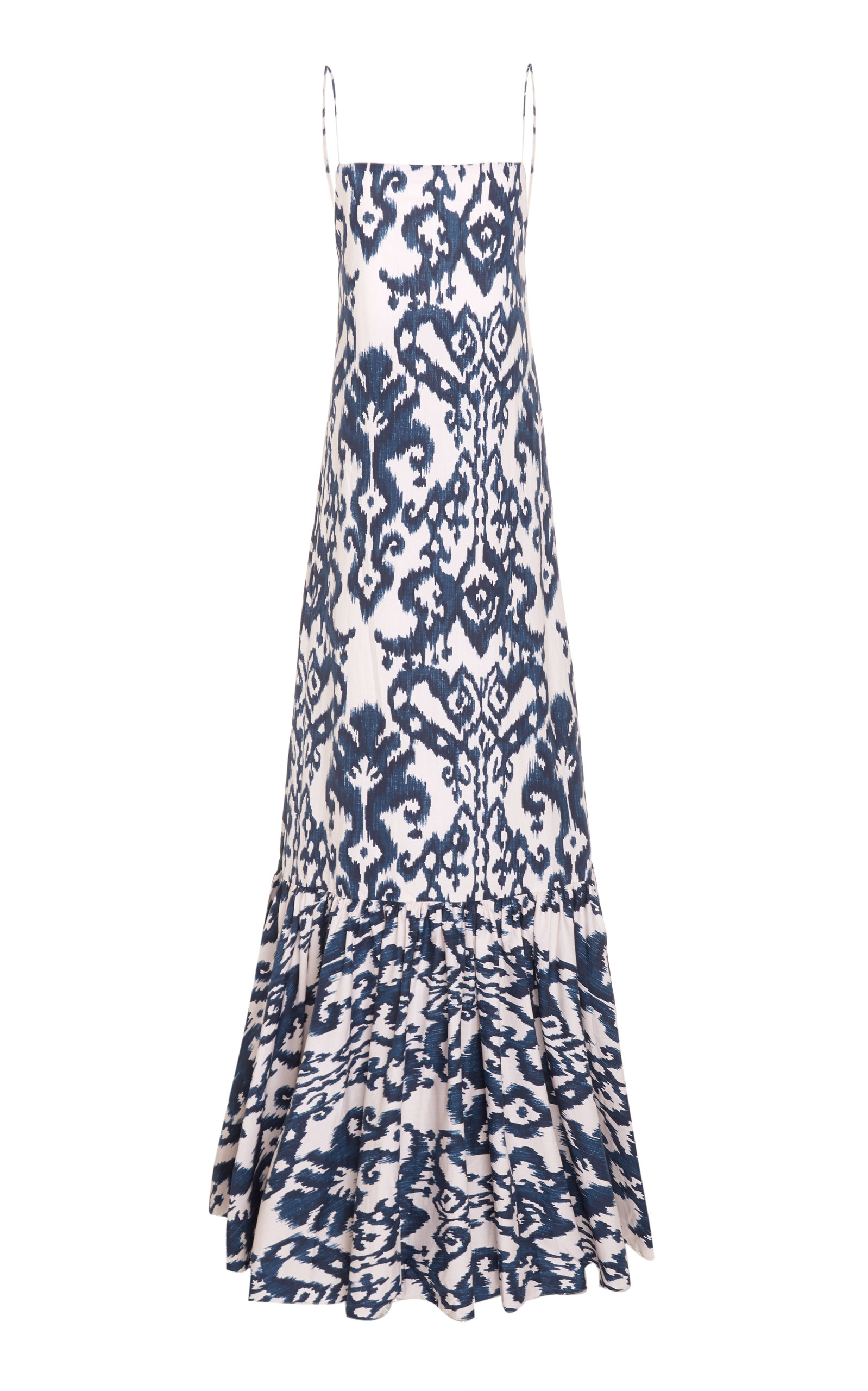 Buy Andres Otalora Valverde Backless Maxi Dress online, shop Andres Otalora at the best price