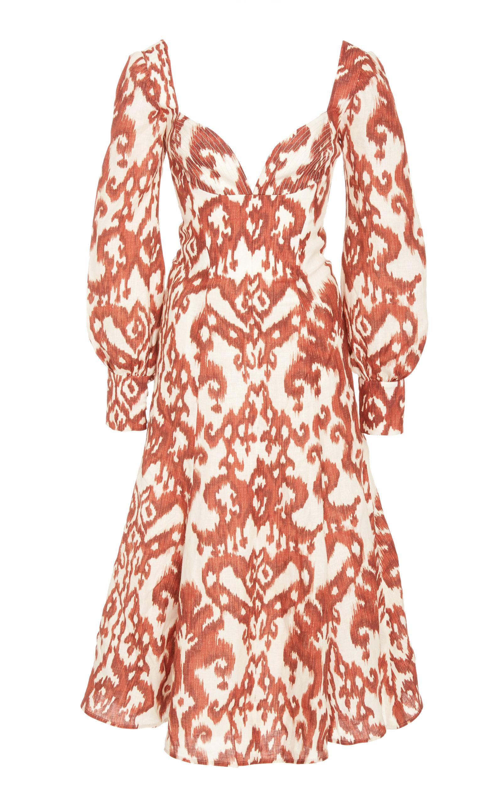 Buy Andres Otalora Fernandez Midi Dress online, shop Andres Otalora at the best price
