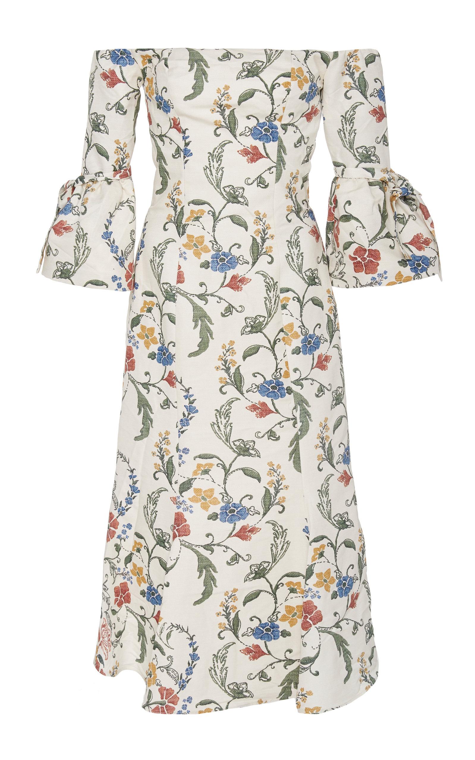 Buy Andres Otalora Ferrer Midi Dress online, shop Andres Otalora at the best price