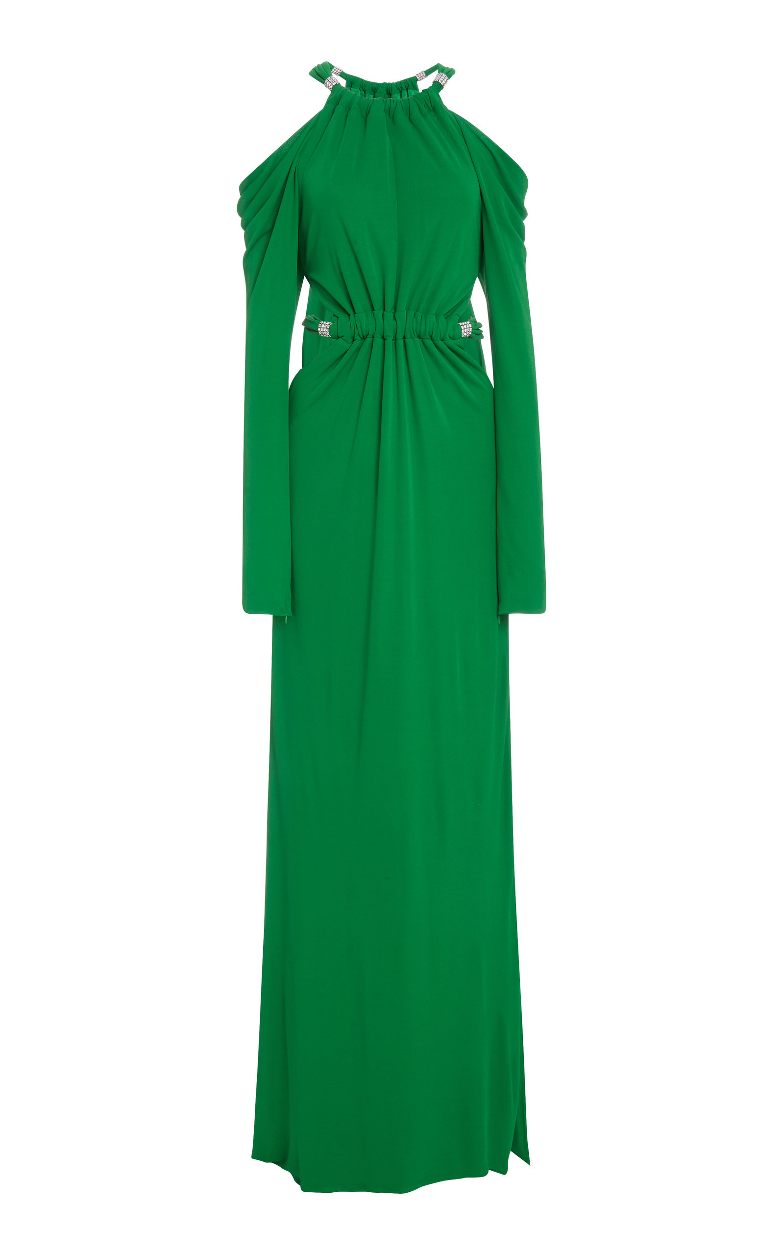 Buy Dundas Open-Shoulder Crepe Maxi Dress online, shop Dundas at the best price