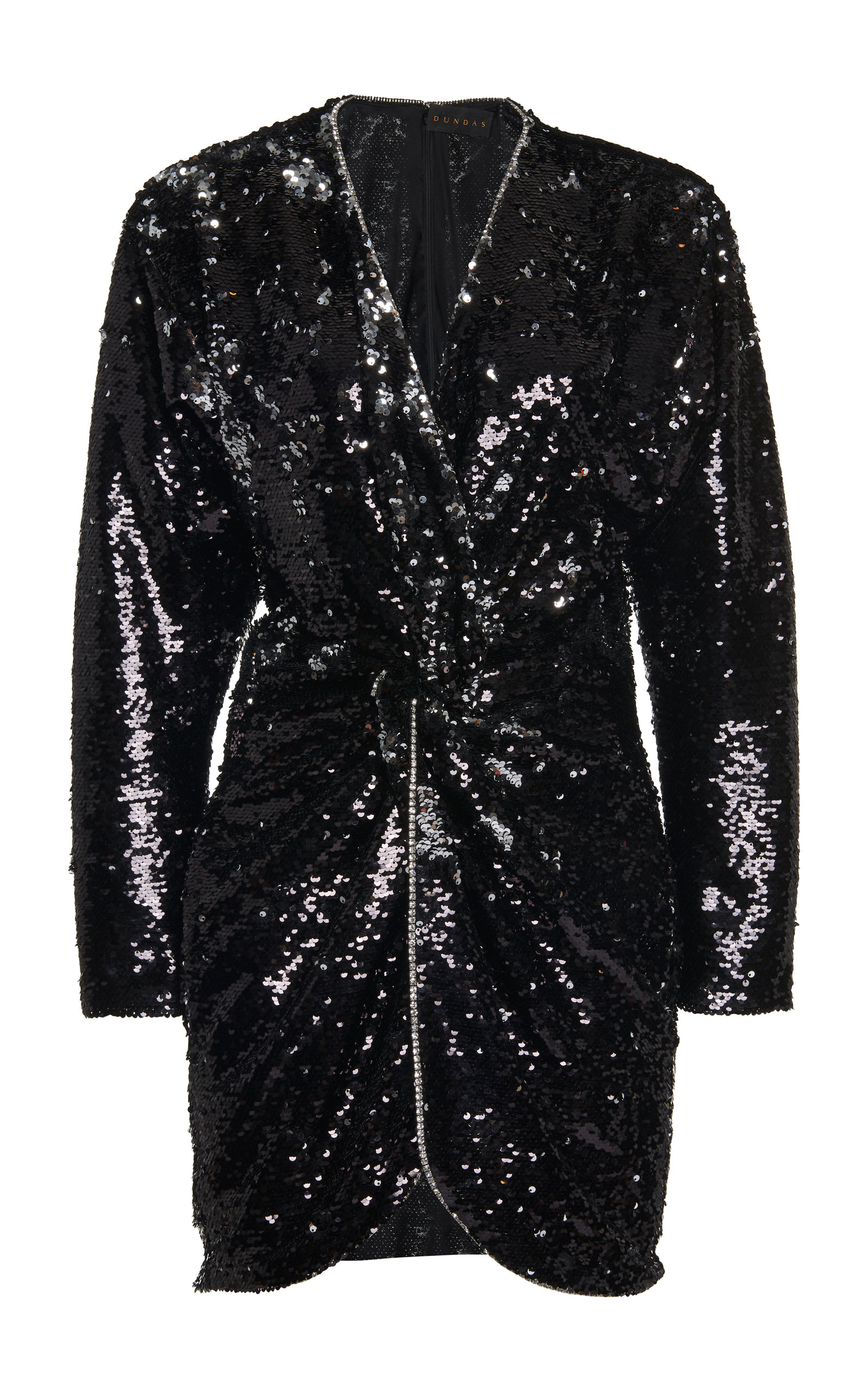 Buy Dundas Sequin-Embellished Mini Dress online, shop Dundas at the best price