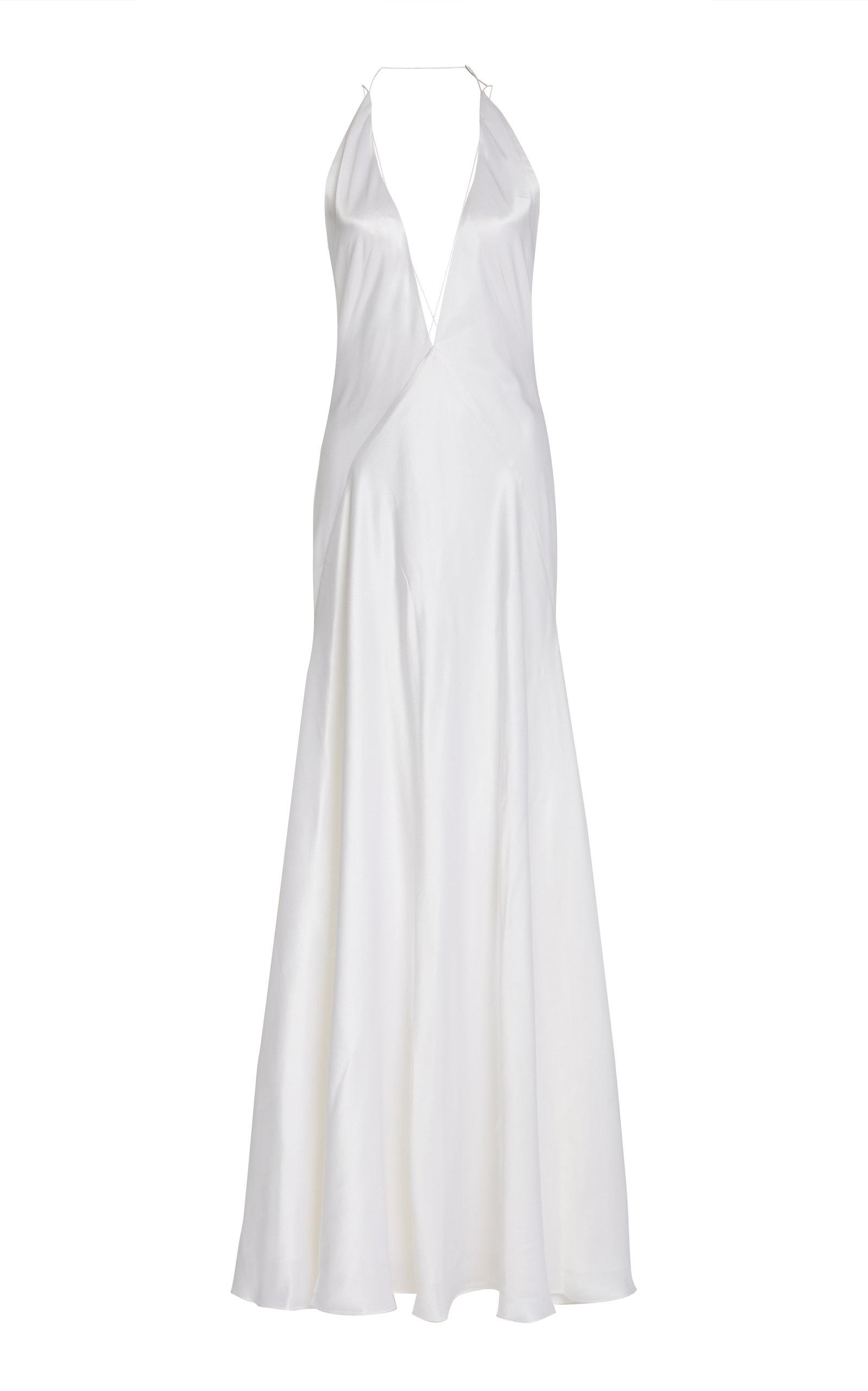 Buy Michael Lo Sordo Alexandra Silk-Satin Gown online, shop Michael Lo Sordo at the best price
