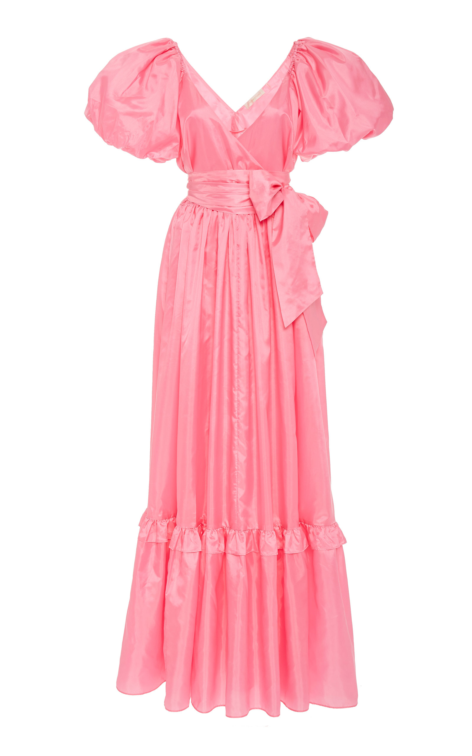 Buy LoveShackFancy Ida Ruffled Taffeta Gown online, shop LoveShackFancy at the best price