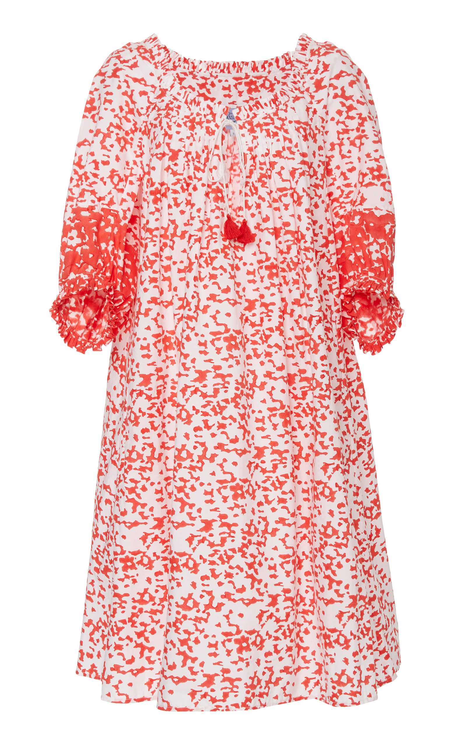 Buy Thierry Colson Eva Printed Cotton Dress online, shop Thierry Colson at the best price