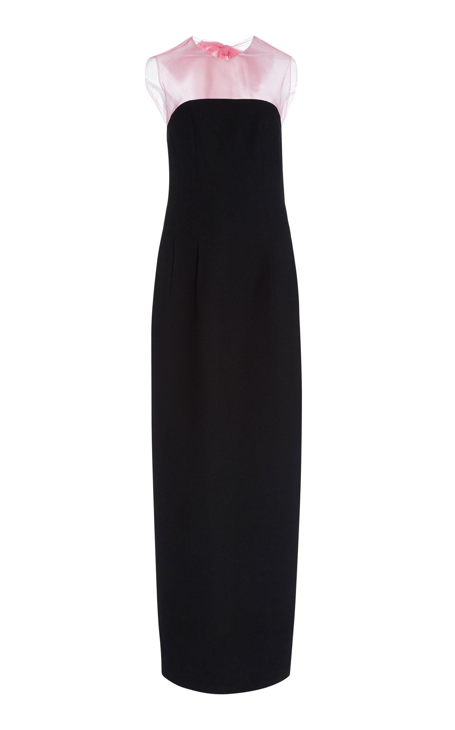 Buy Rasario Bow-Embellished Tulle-Crepe Maxi Dress online, shop Rasario at the best price