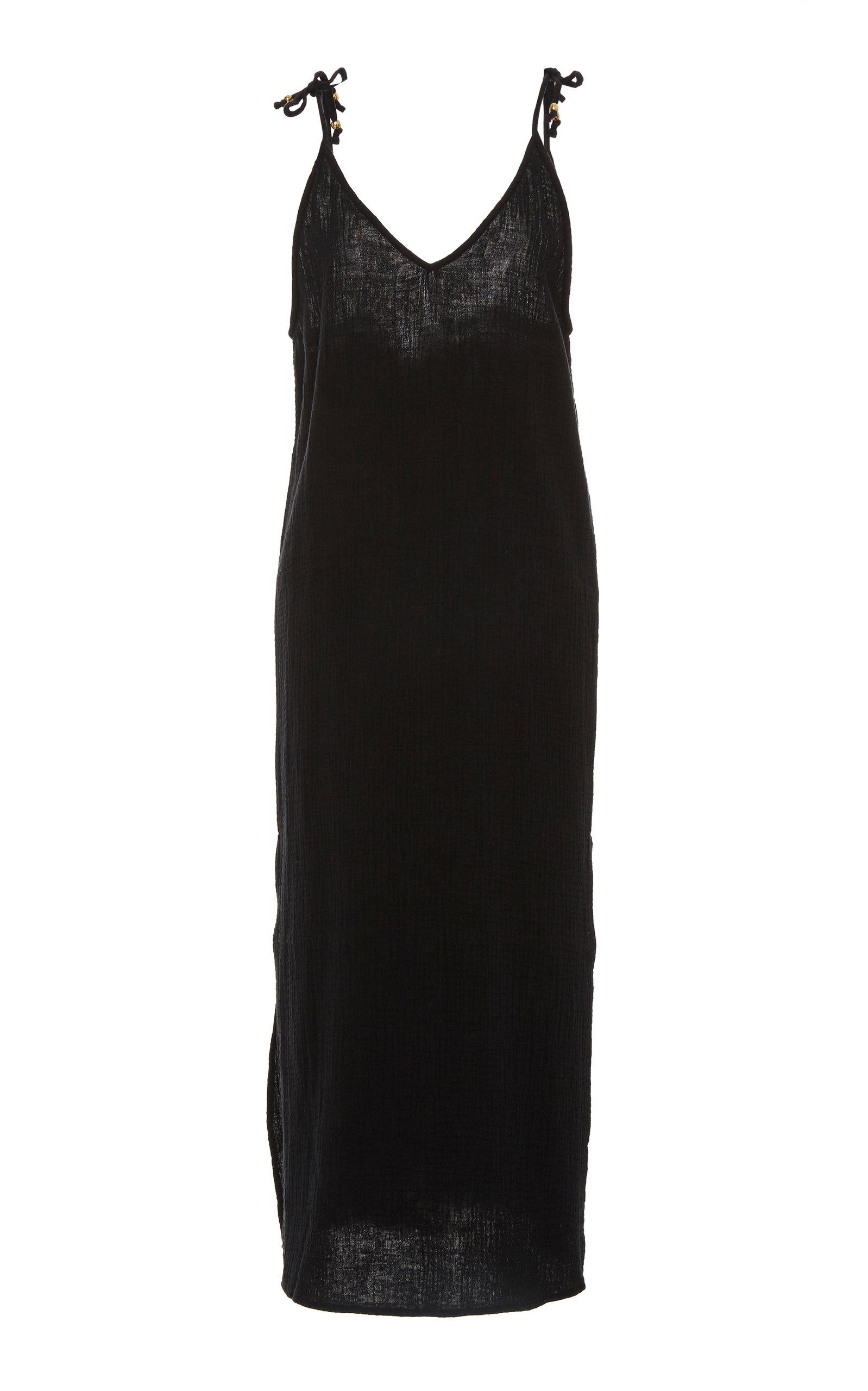 Buy Bird & Knoll Valentina Cotton Slip Dress online, shop Bird & Knoll at the best price