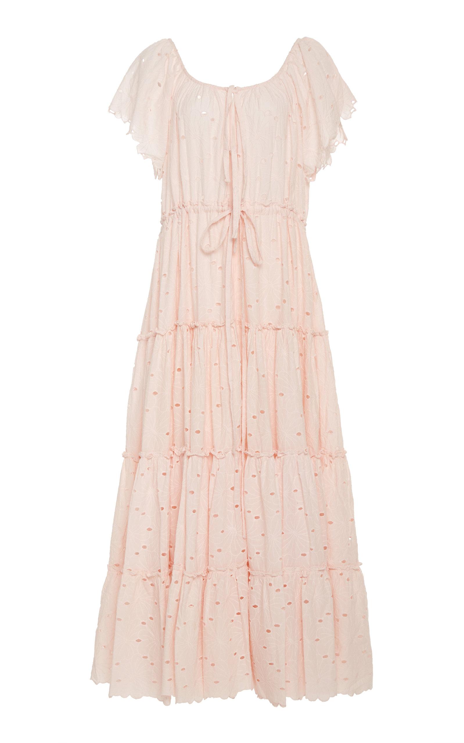 Buy Innika Choo Alotta Gud Eyelet Maxi Dress online, shop Innika Choo at the best price