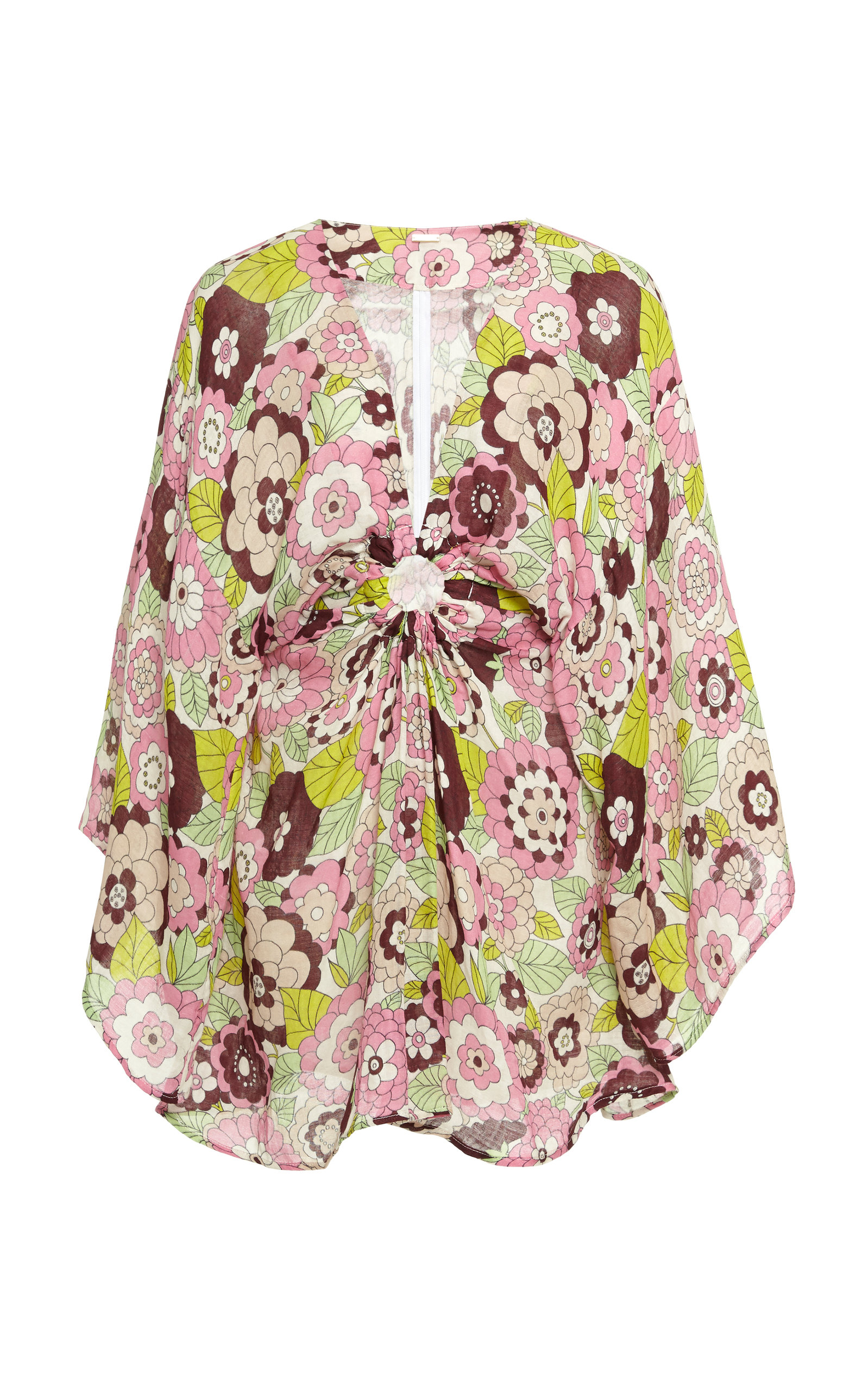 Buy DoDo Bar Or Shelly Floral-Print Cotton-Voile Mini Dress online, shop DoDo Bar Or at the best price
