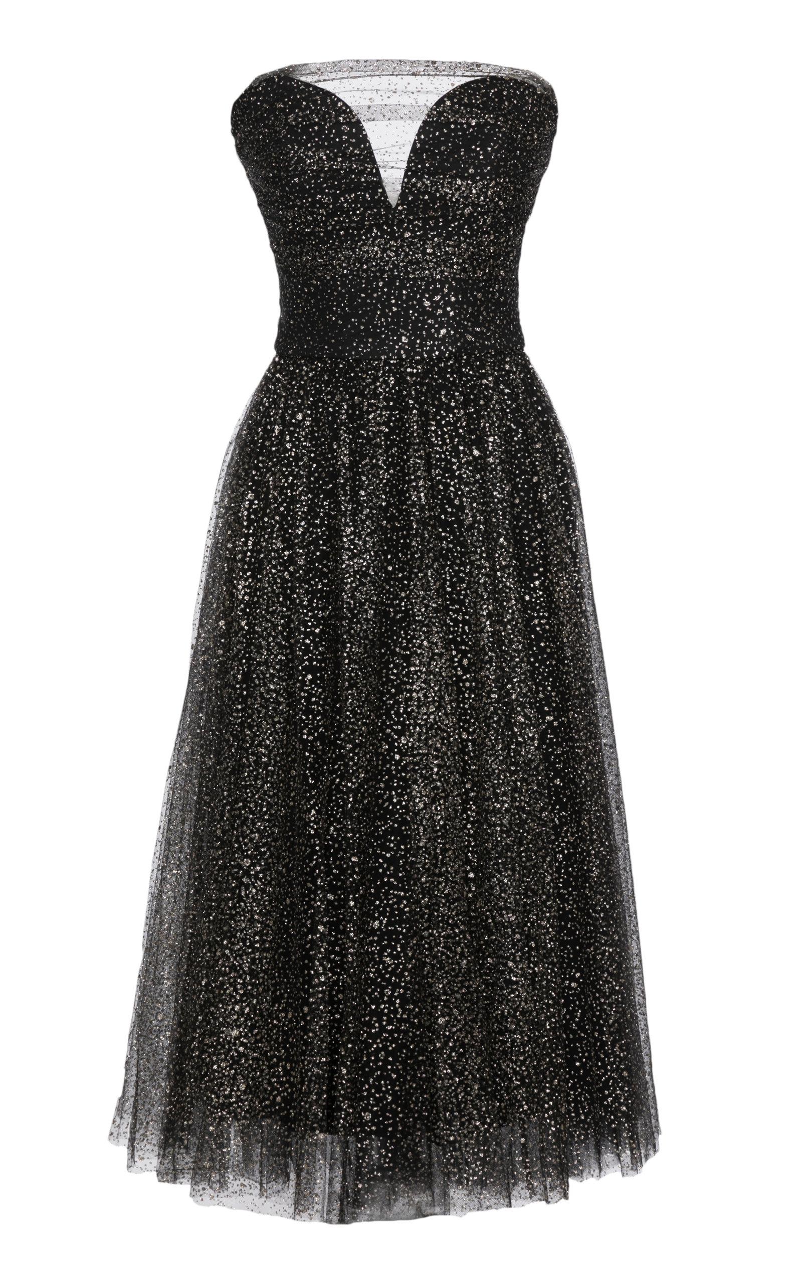 Buy Lena Hoschek Luna Sweetheart Overlay Dress online, shop Lena Hoschek at the best price