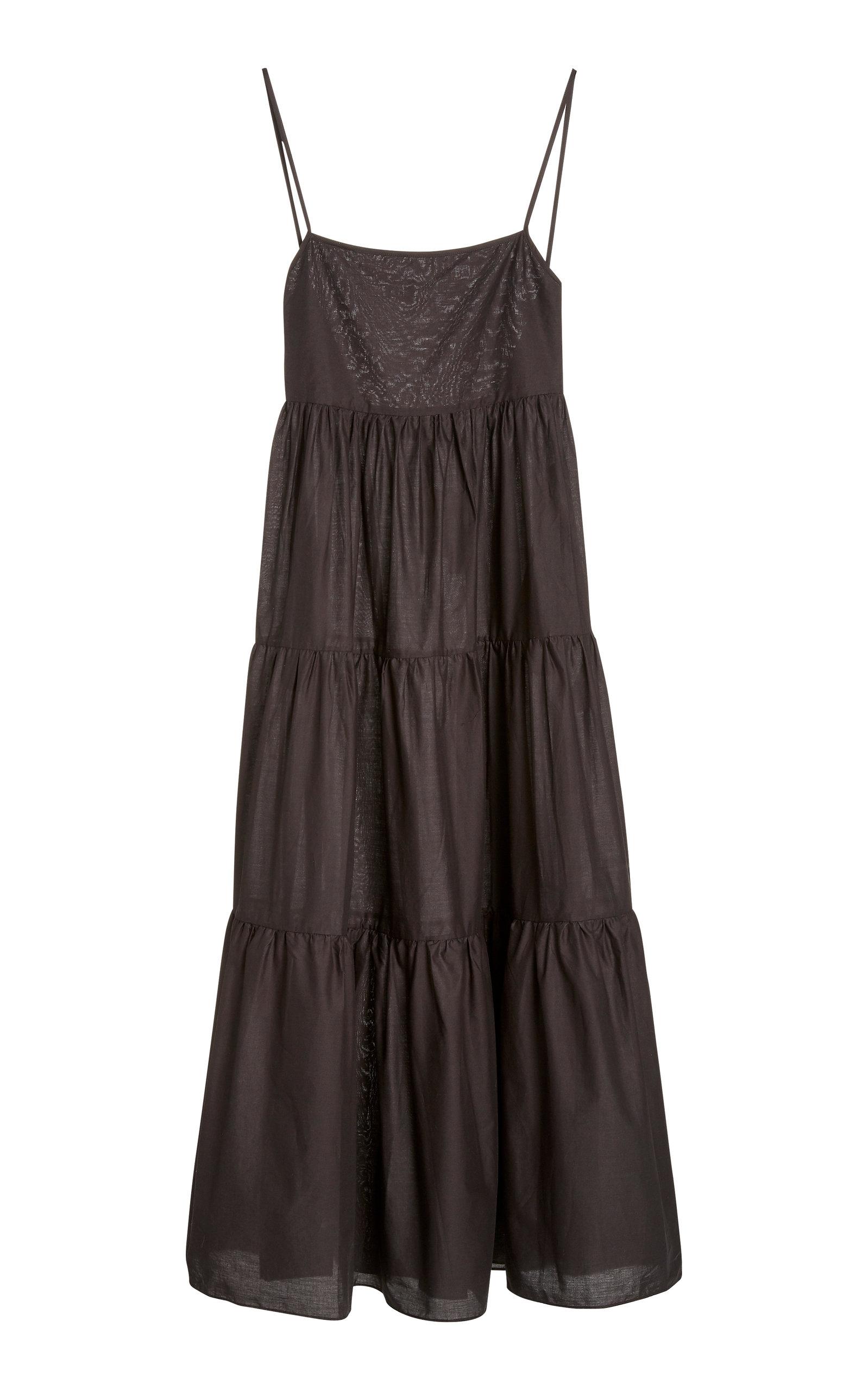Buy Matteau Tiered Cotton-Gauze Maxi Dress online, shop Matteau at the best price