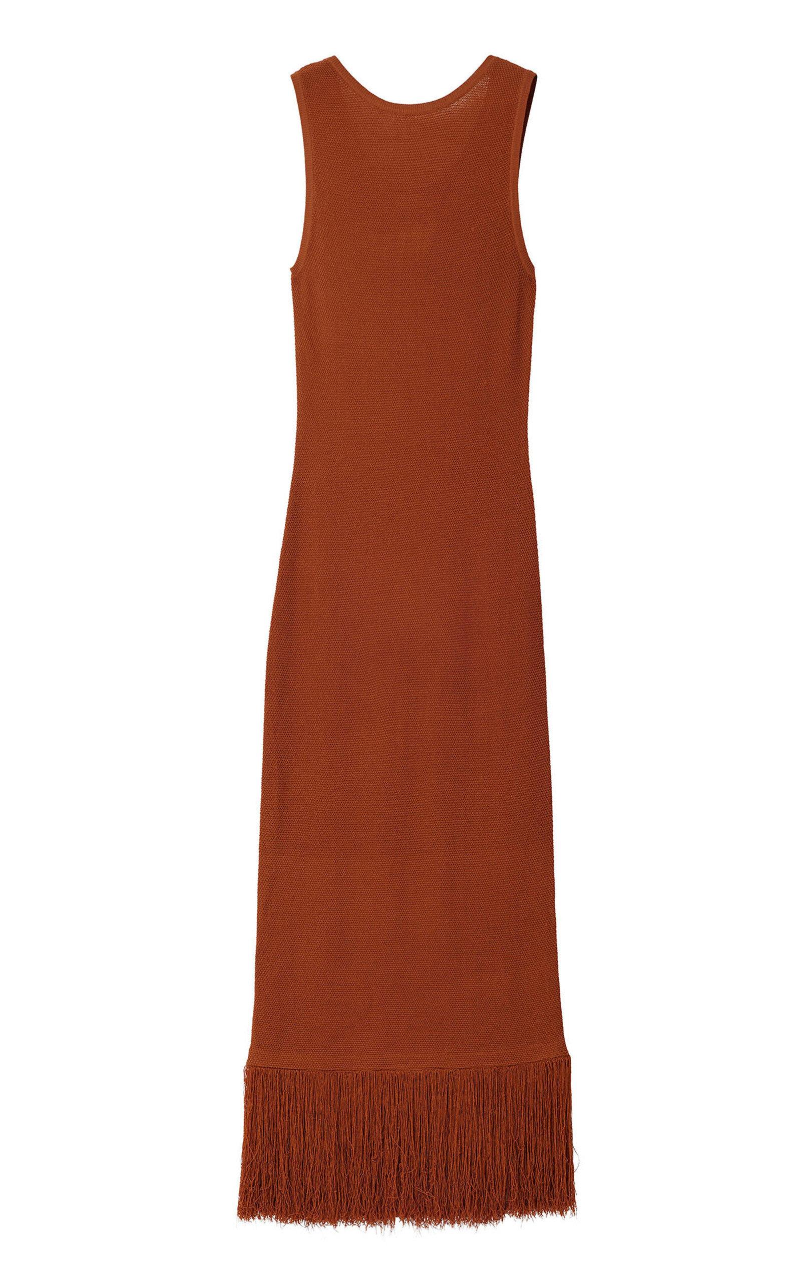 Buy Rodebjer Etthara Sleeveless Maxi Dress online, shop Rodebjer at the best price