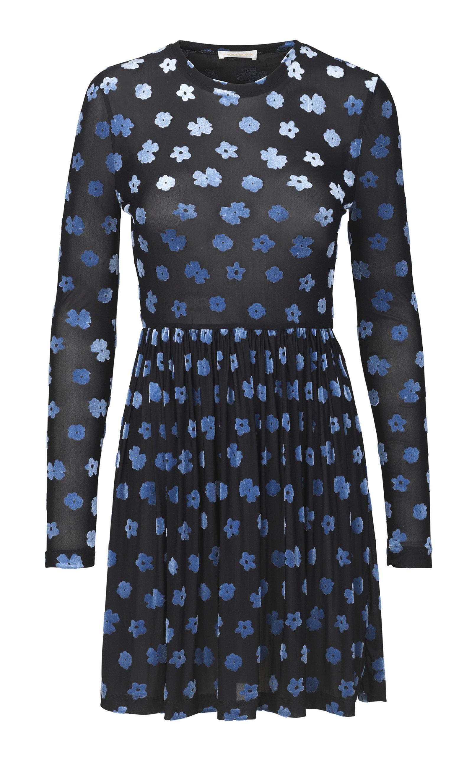 Buy Stine Goya Julianna Floral Mini Long Sleeve Dress online, shop Stine Goya at the best price
