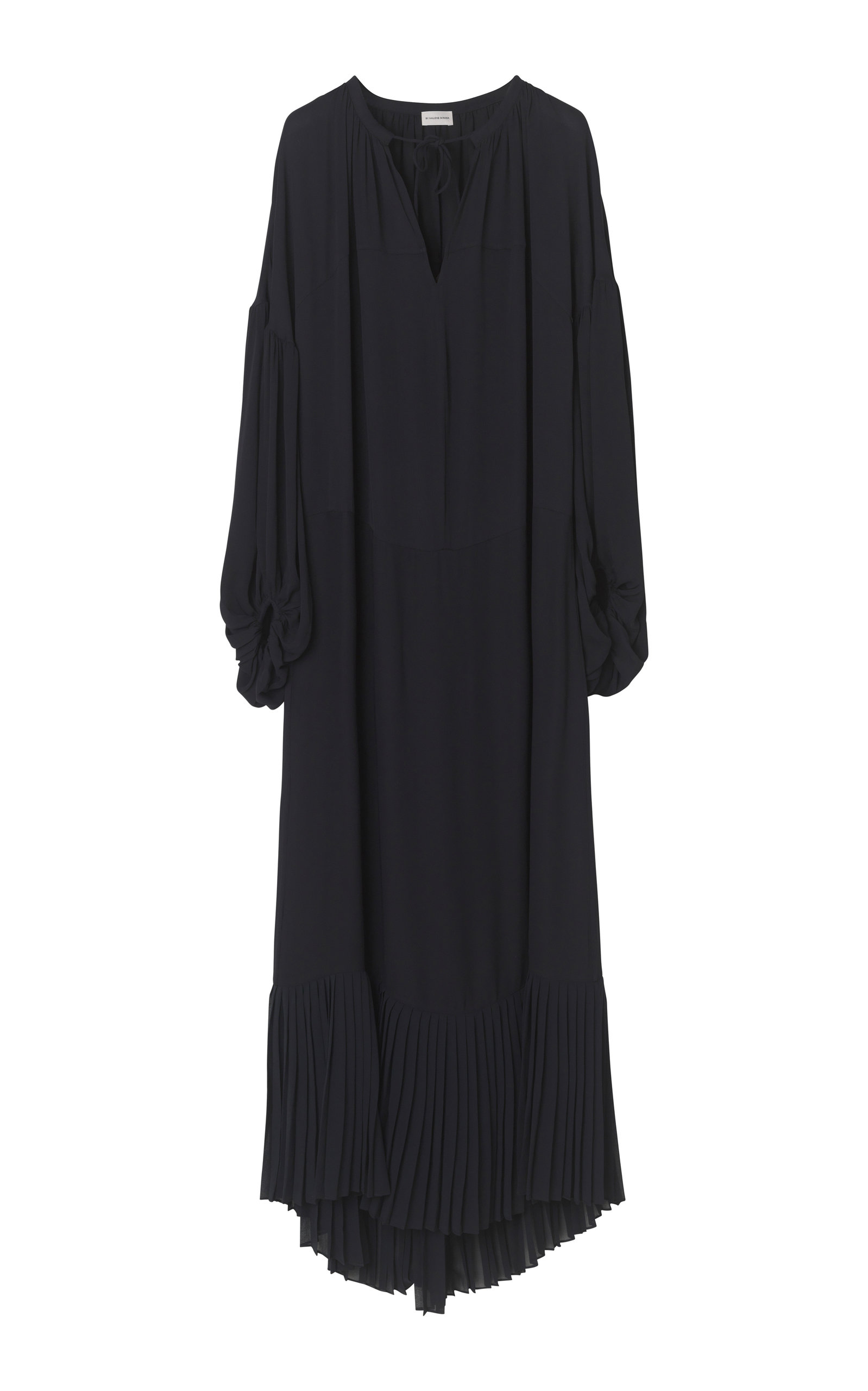 Buy By Malene Birger Selinah Solid Viscose Crepe Dress online, shop By Malene Birger at the best price