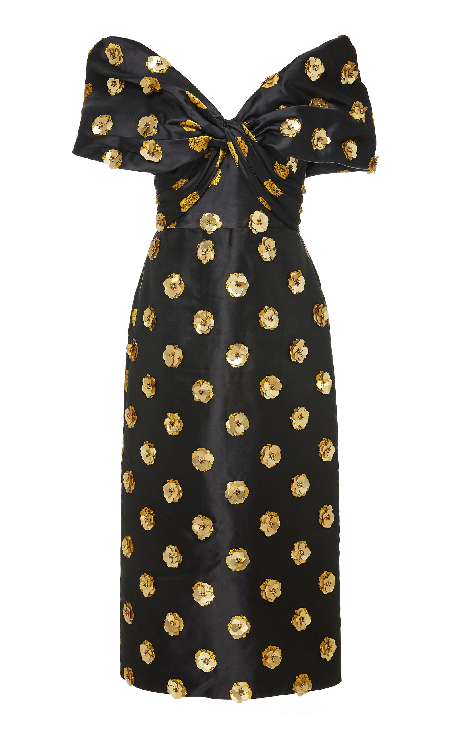 Buy Johanna Ortiz Exclusive Golden Phase Embellished Taffeta Dress online, shop Johanna Ortiz at the best price