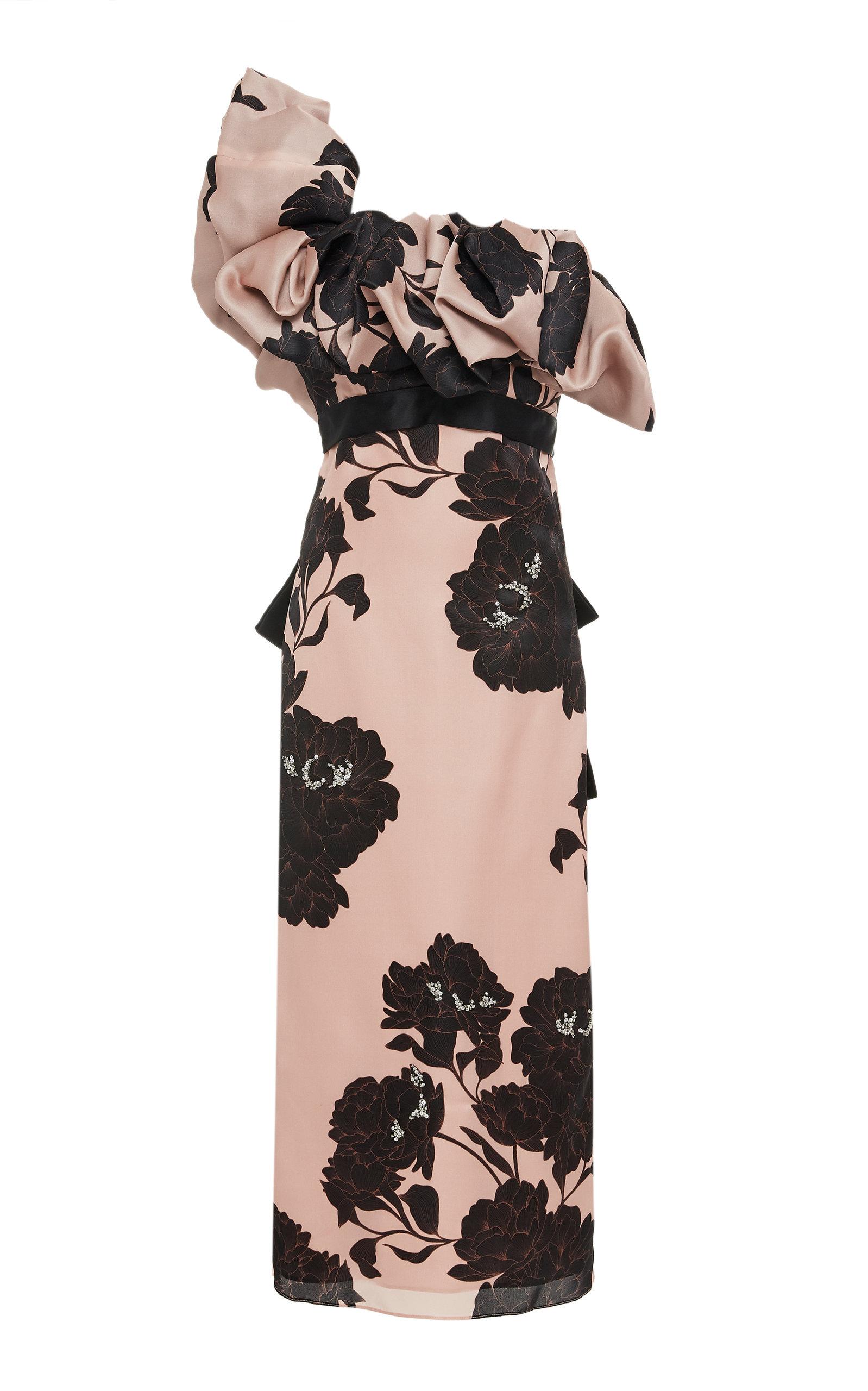 Buy Johanna Ortiz Exclusive Prodigious Silk Floral Dress online, shop Johanna Ortiz at the best price