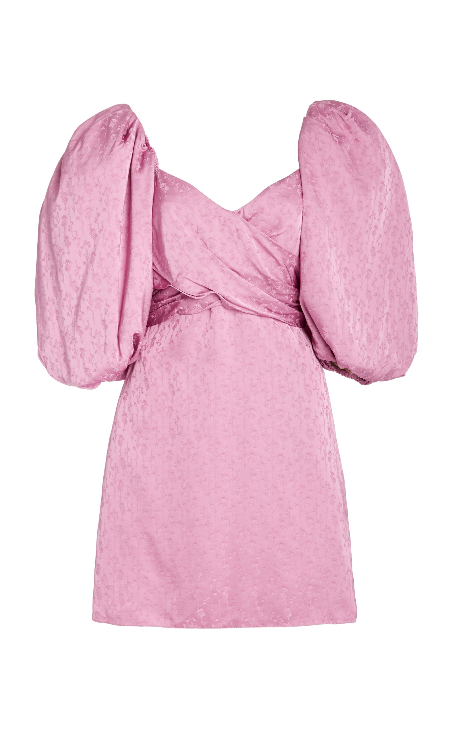 Buy Johanna Ortiz Exclusive Midnight Promises Satin-Jacquard Dress online, shop Johanna Ortiz at the best price