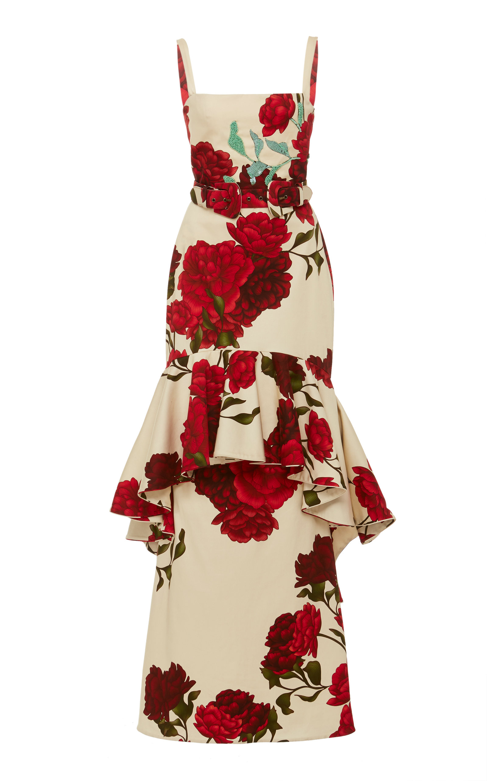 Buy Johanna Ortiz Exclusive Universal Exposition Floral-Print Cotton-Blend online, shop Johanna Ortiz at the best price
